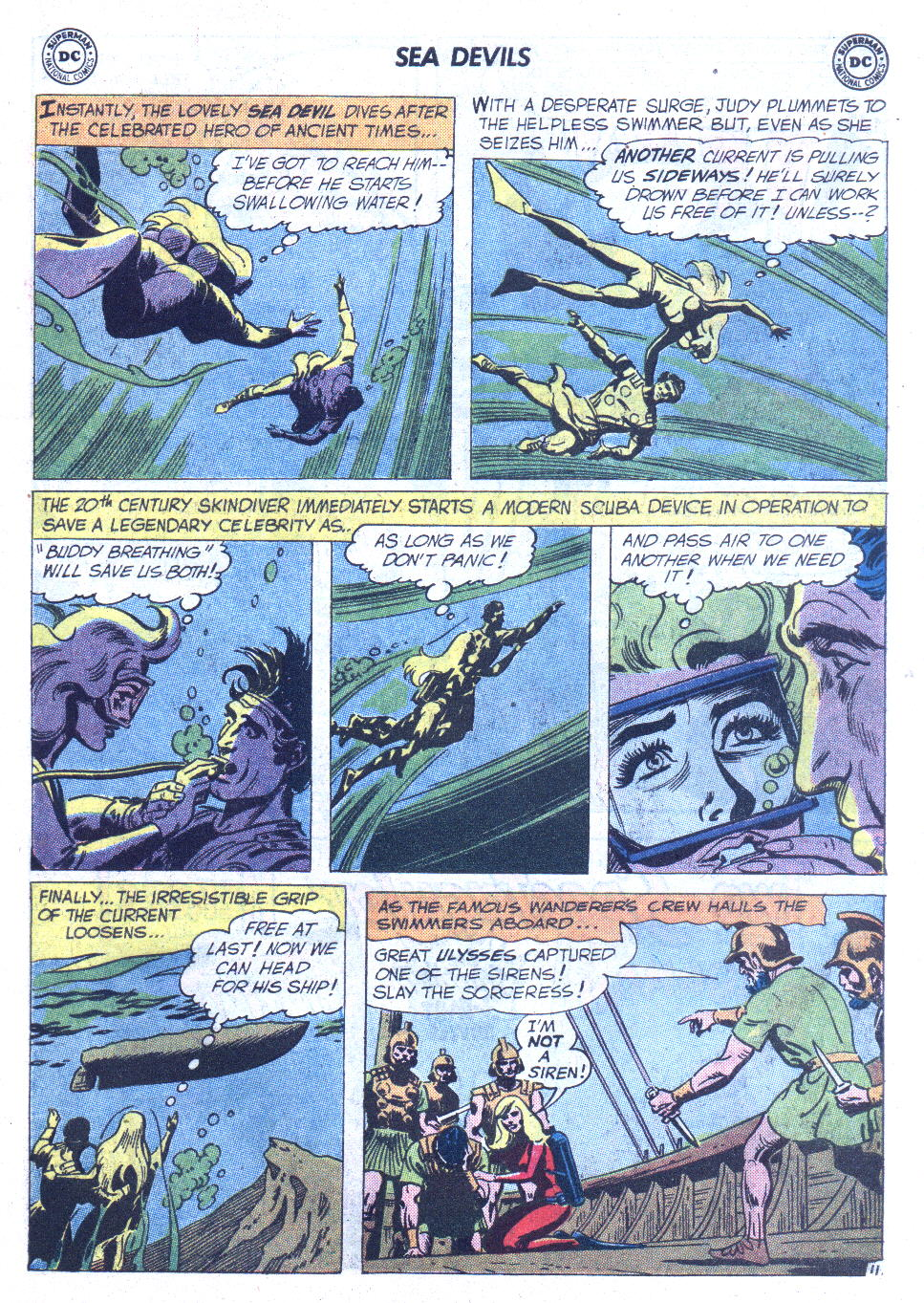 Read online Sea Devils comic -  Issue #6 - 16