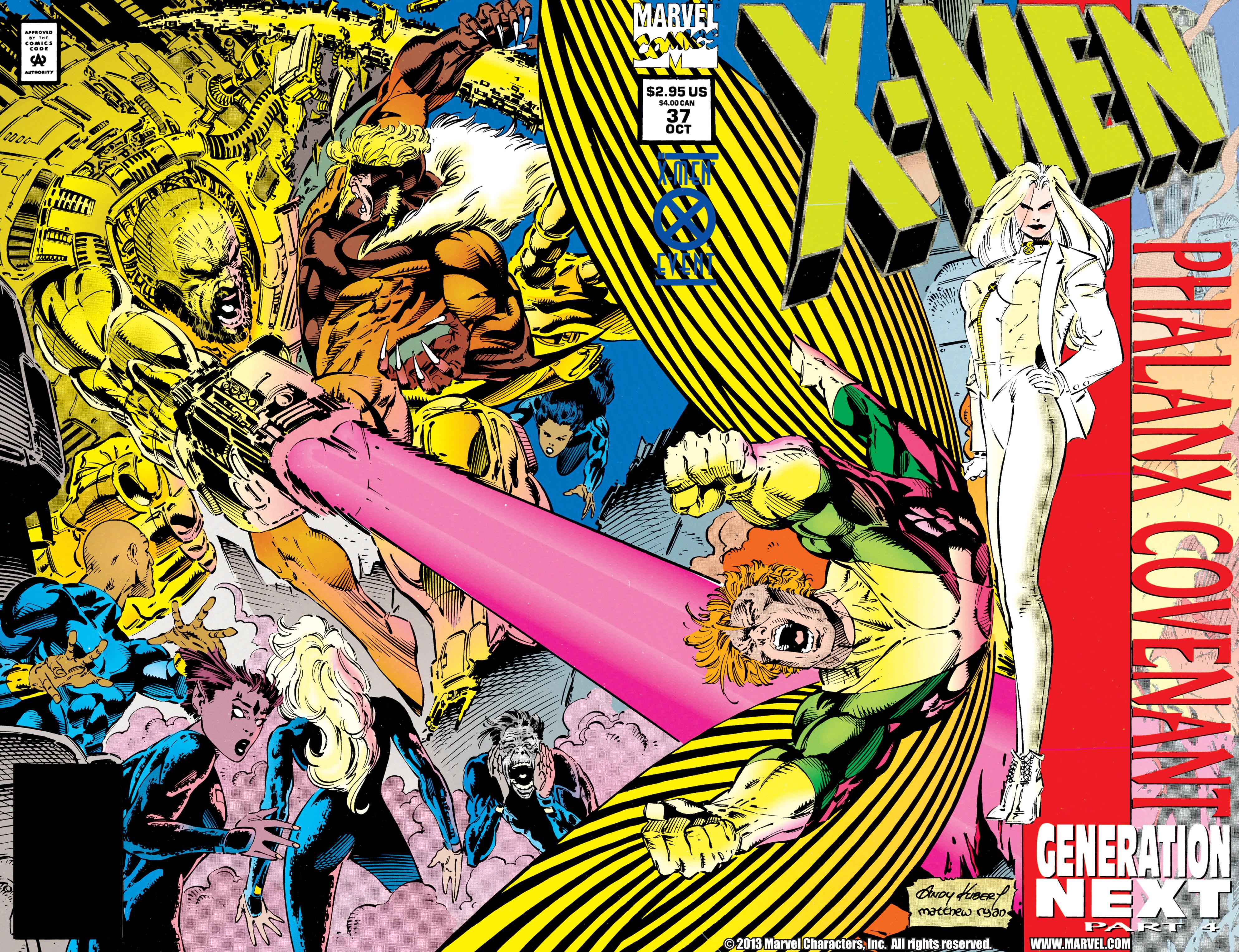 X-Men (1991) 37 Page 1