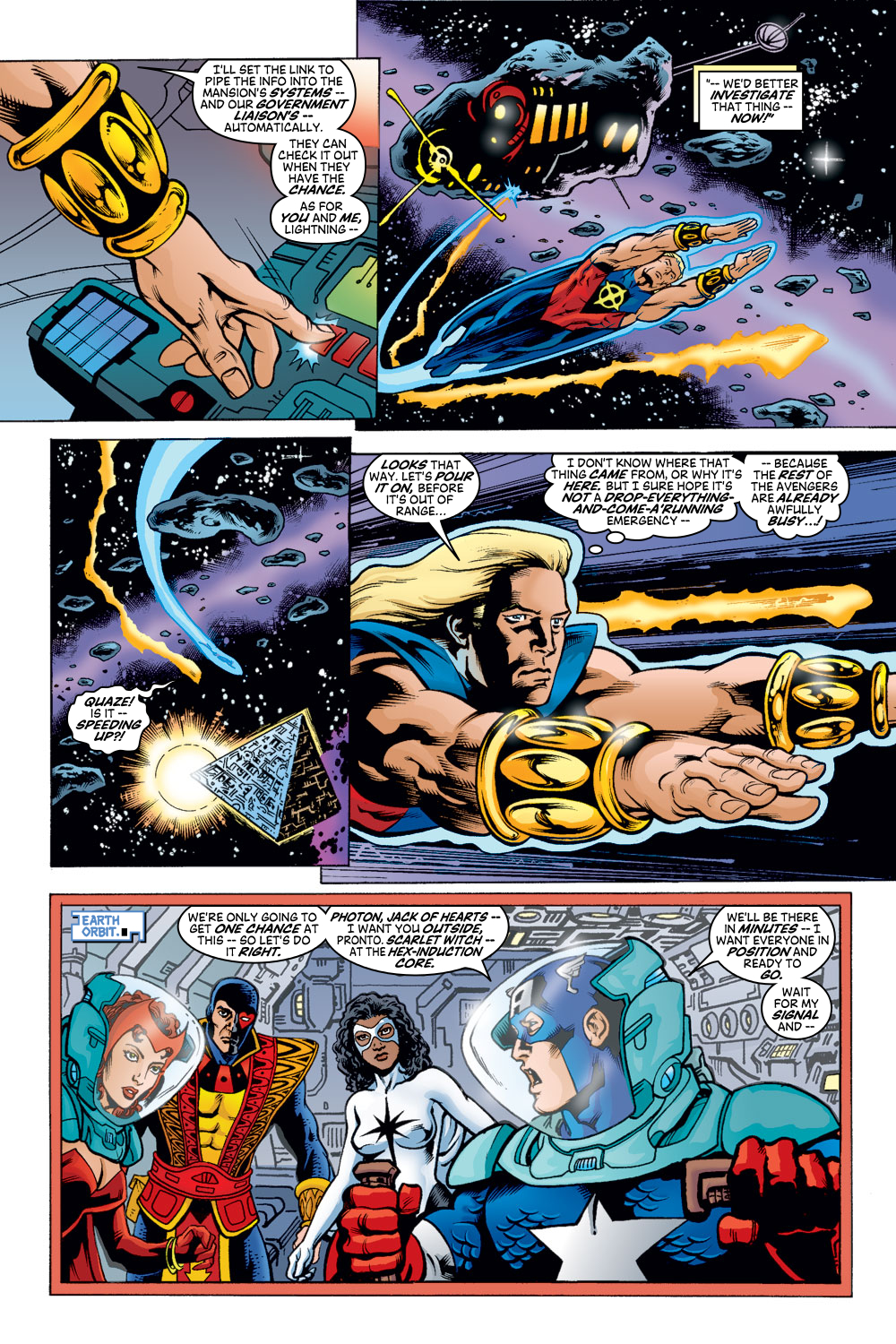 Read online Avengers (1998) comic -  Issue #48 - 3