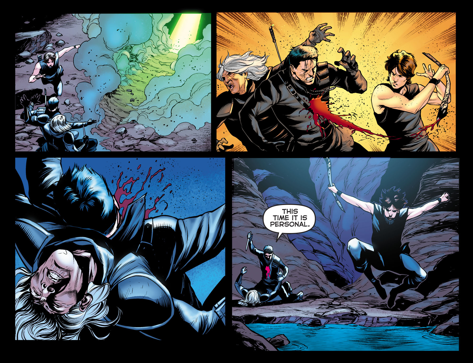 Read online Arrow: The Dark Archer comic -  Issue #11 - 20