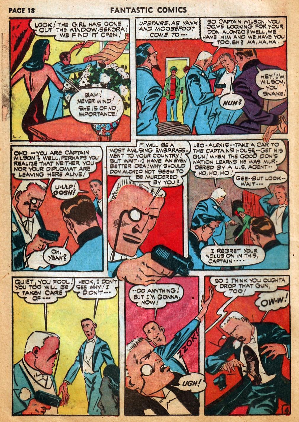 Read online Fantastic Comics comic -  Issue #22 - 20