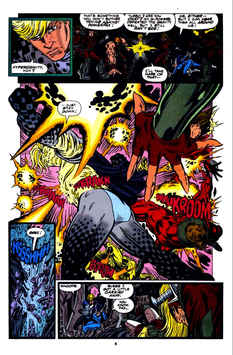The New Warriors Issue #56 #60 - English 6