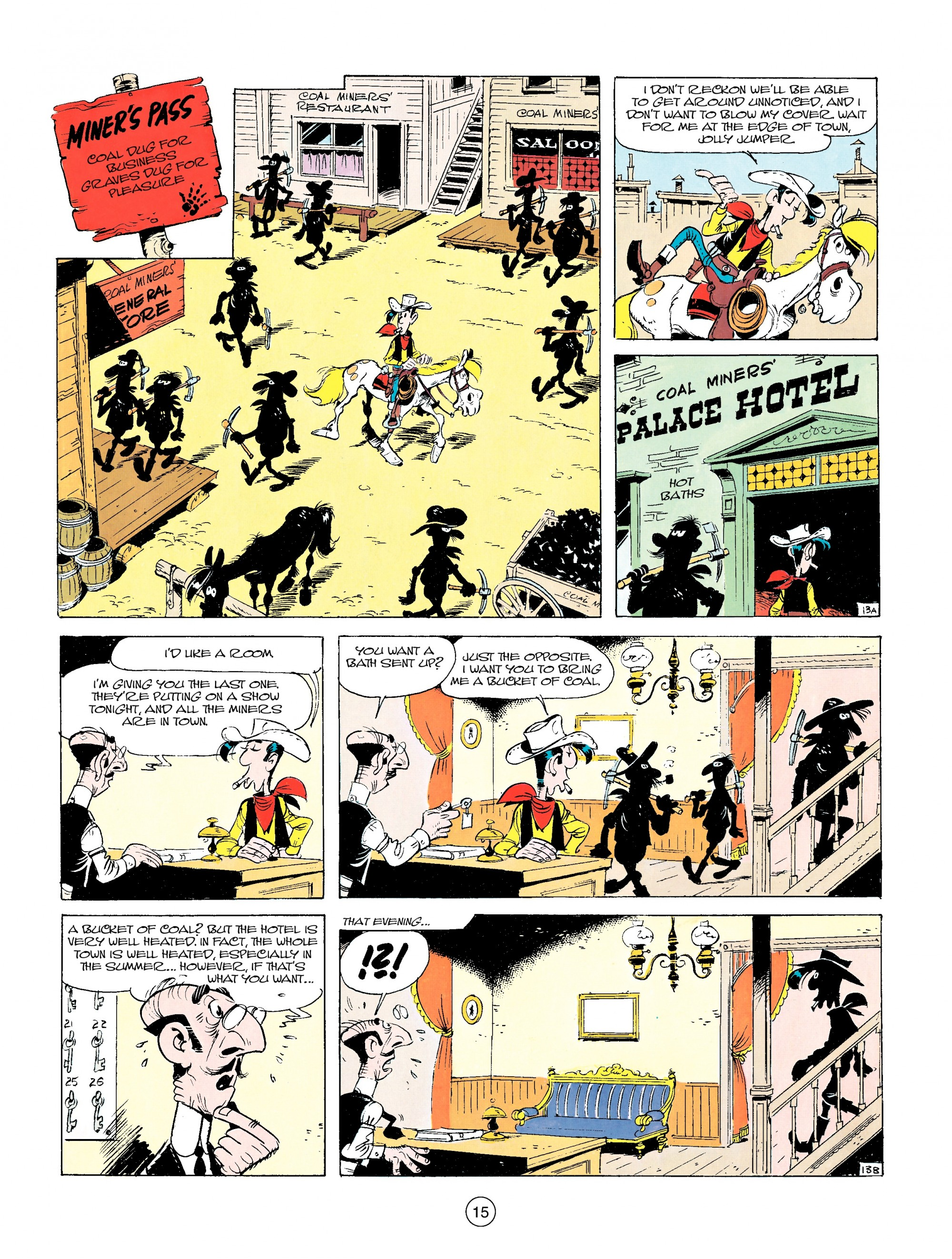 Read online A Lucky Luke Adventure comic -  Issue #14 - 15