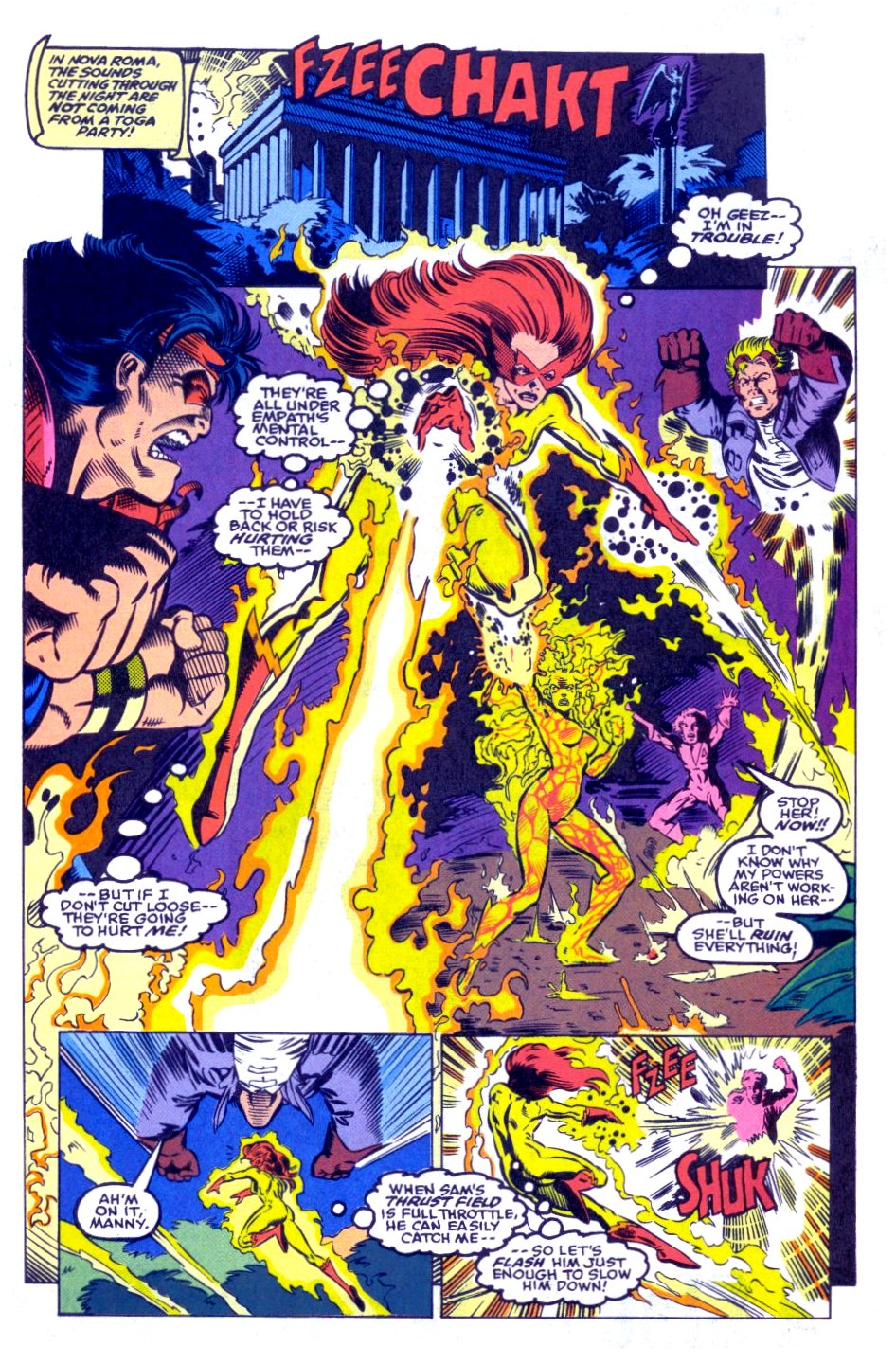 The New Warriors Issue #31 #35 - English 16