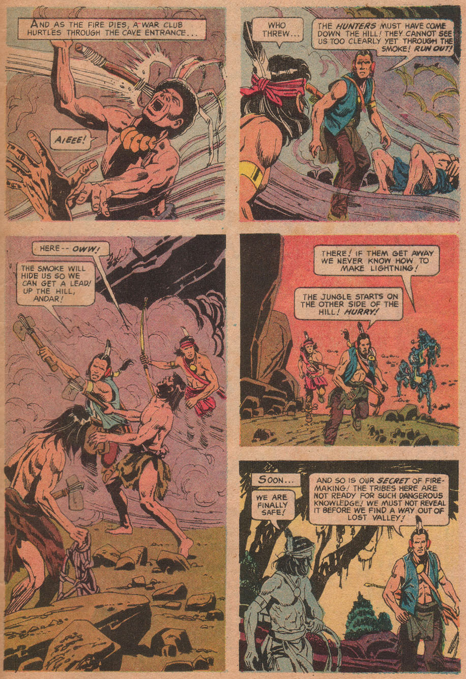 Read online Turok, Son of Stone comic -  Issue #73 - 33