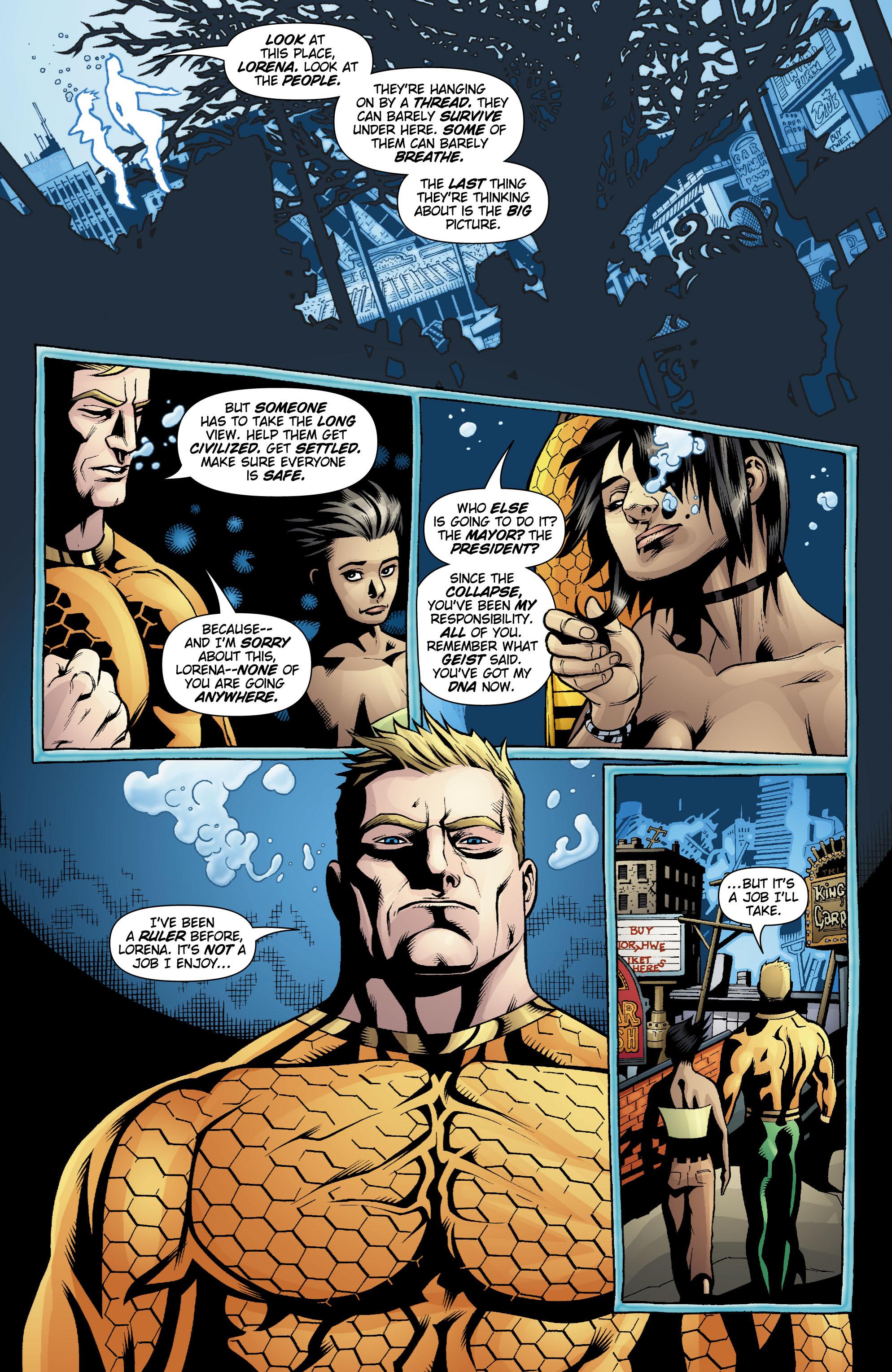 Read online Aquaman (2003) comic -  Issue #20 - 19