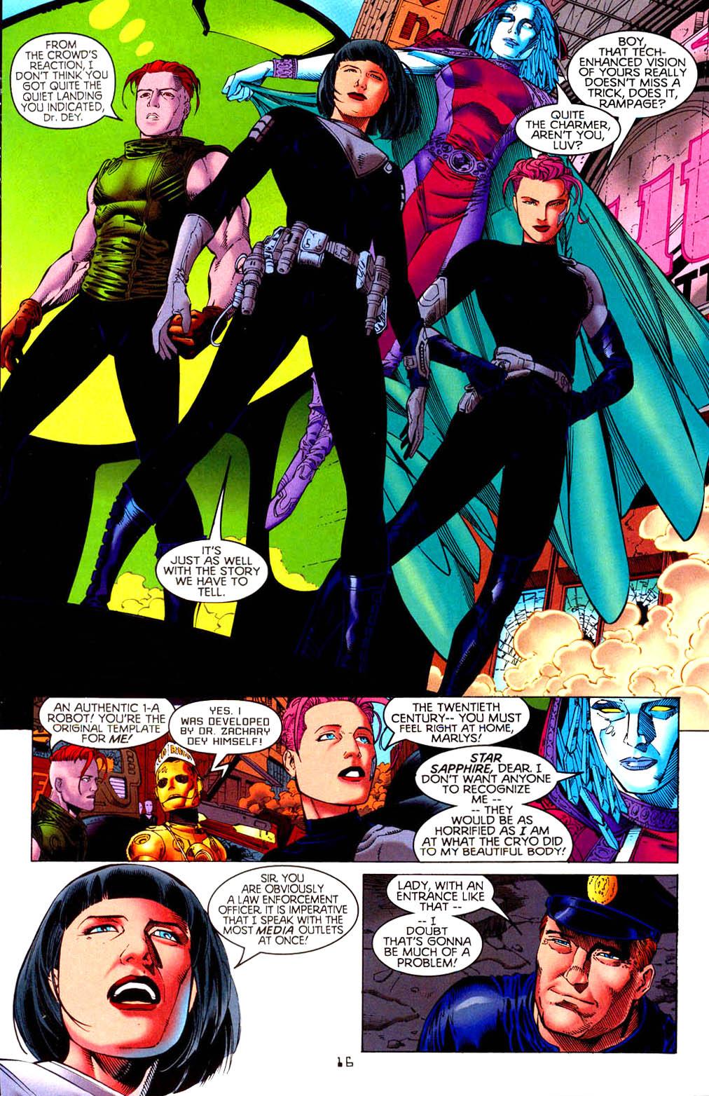 Read online Tangent Comics/ Doom Patrol comic -  Issue # Full - 17
