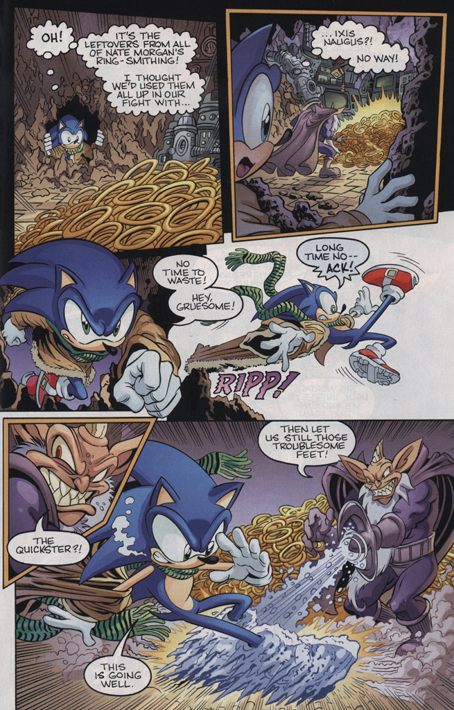 Read online Sonic the Hedgehog Free Comic Book Day Edition comic -  Issue # Special 5 - 9