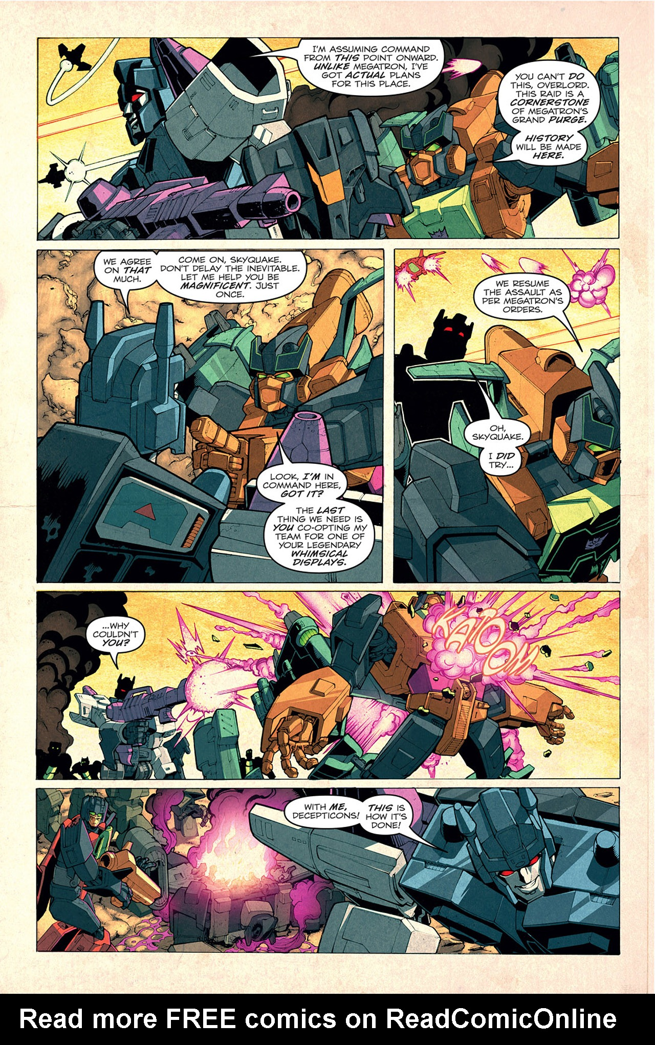 Read online Transformers: Last Stand of The Wreckers comic -  Issue #1 - 8
