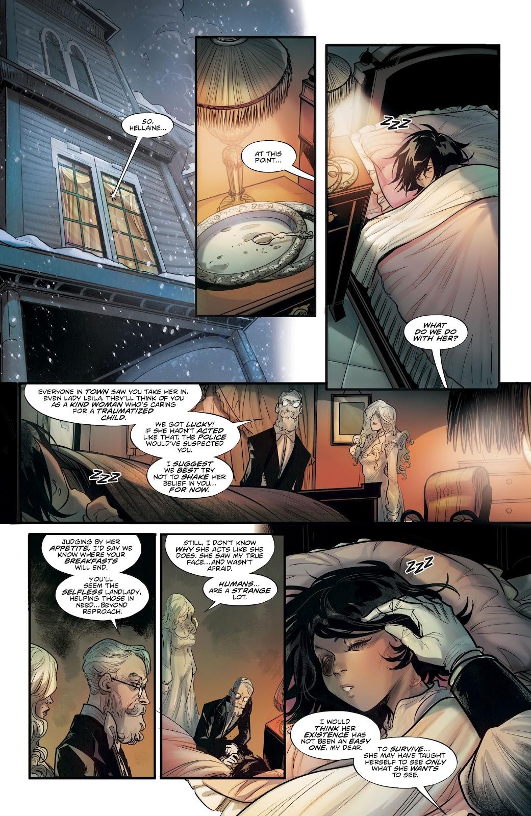 Read online Mirka Andolfo's Mercy comic -  Issue #2 - 27