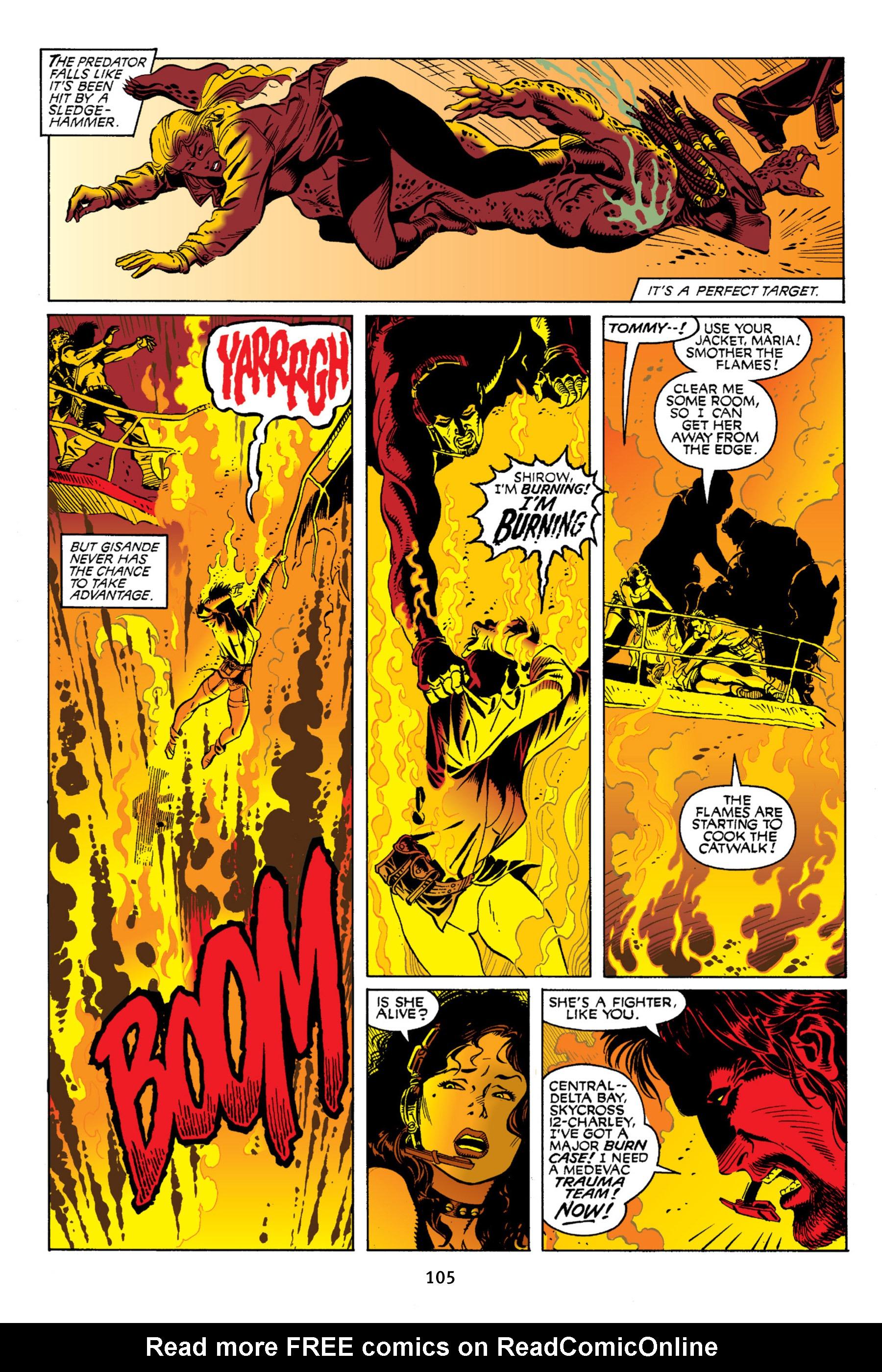Read online Aliens vs. Predator Omnibus comic -  Issue # _TPB 2 Part 1 - 104