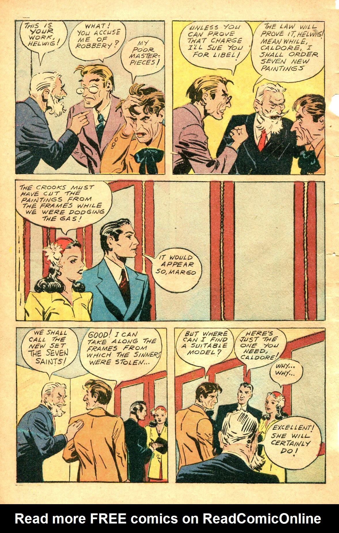 Read online Shadow Comics comic -  Issue #47 - 9