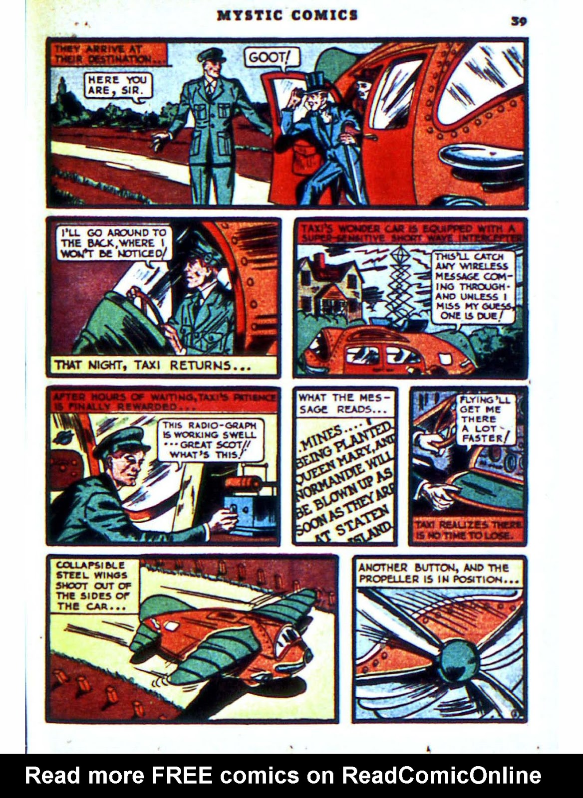 Mystic Comics (1940) issue 2 - Page 41