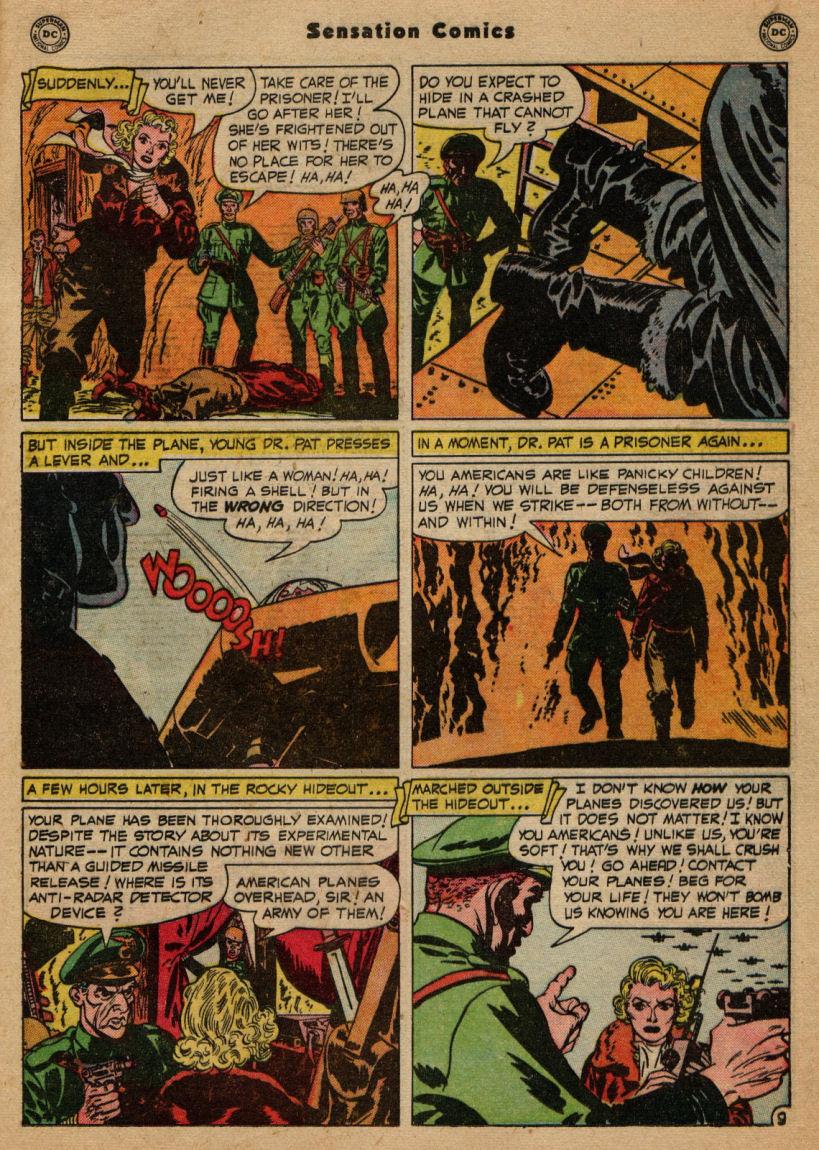 Read online Sensation (Mystery) Comics comic -  Issue #100 - 25