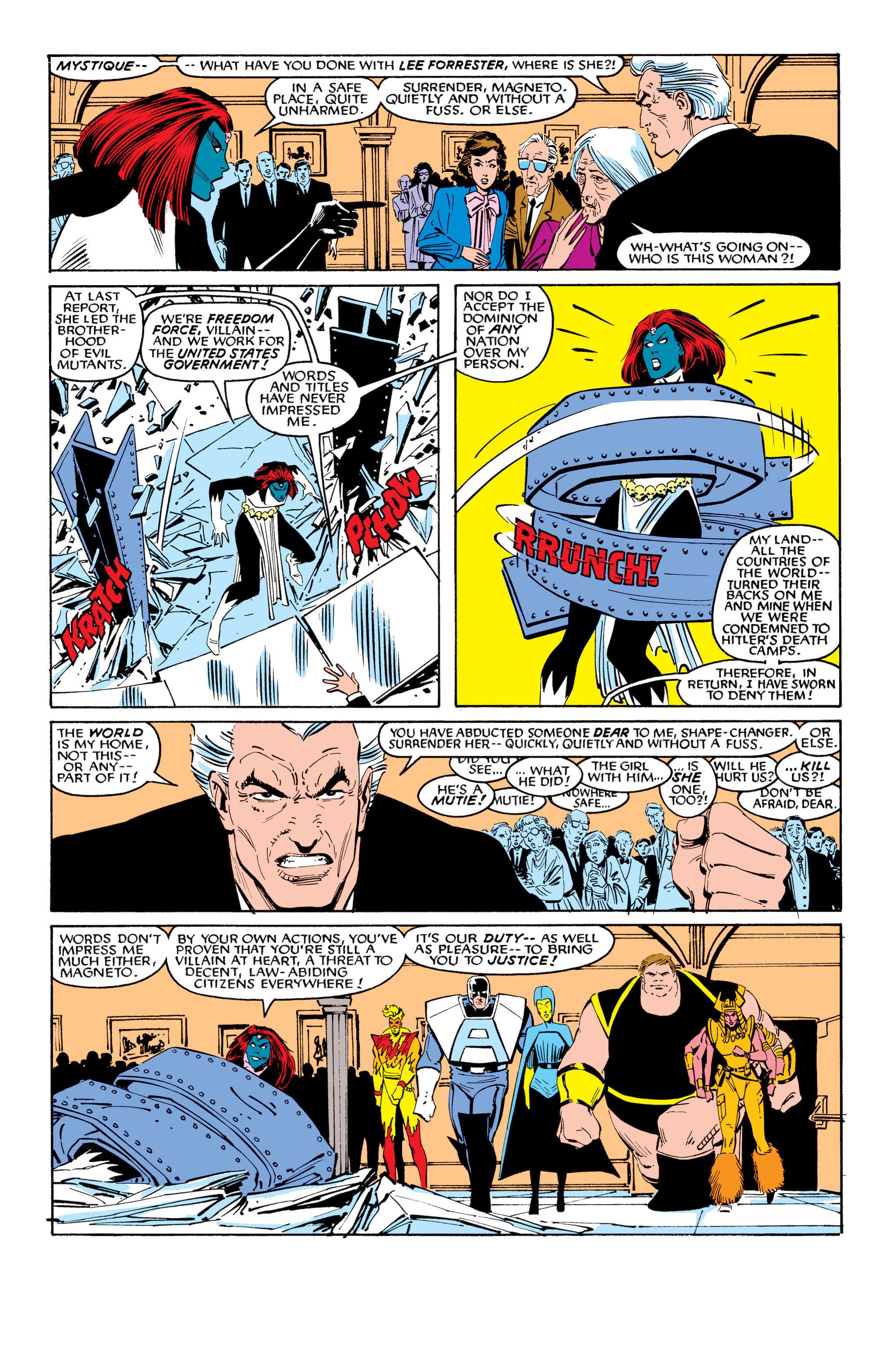 Read online Uncanny X-Men (1963) comic -  Issue #199 - 16