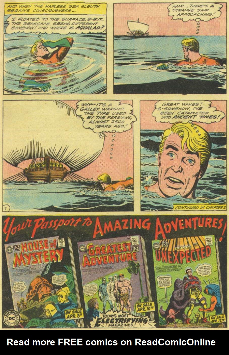 Read online Aquaman (1962) comic -  Issue #3 - 9