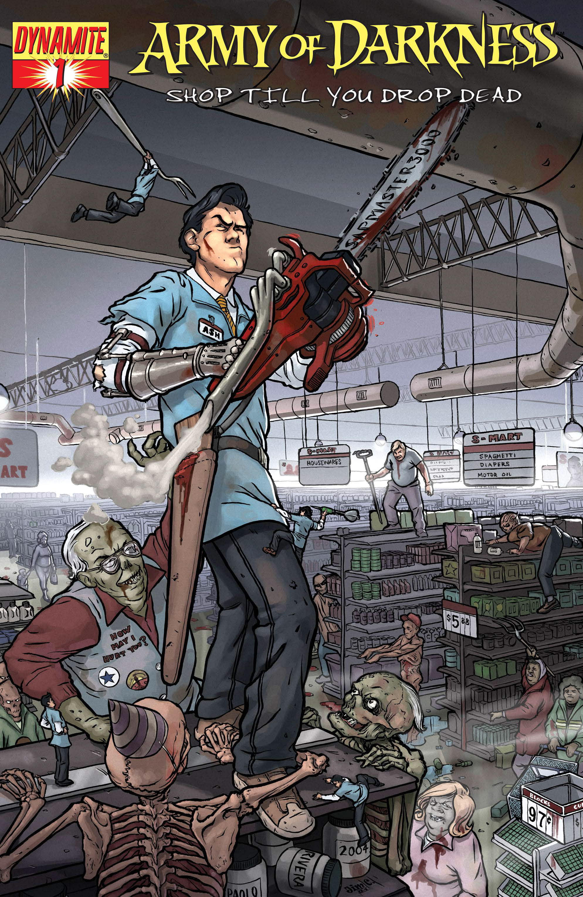 Read online Army of Darkness: Shop Till You Drop Dead comic -  Issue #Army of Darkness: Shop Till You Drop Dead TPB - 9