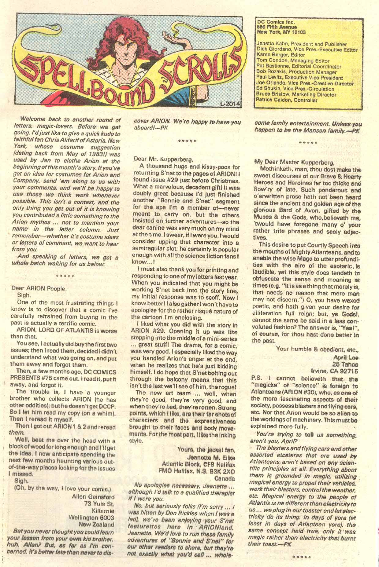 Read online Arion, Lord of Atlantis comic -  Issue #34 - 25