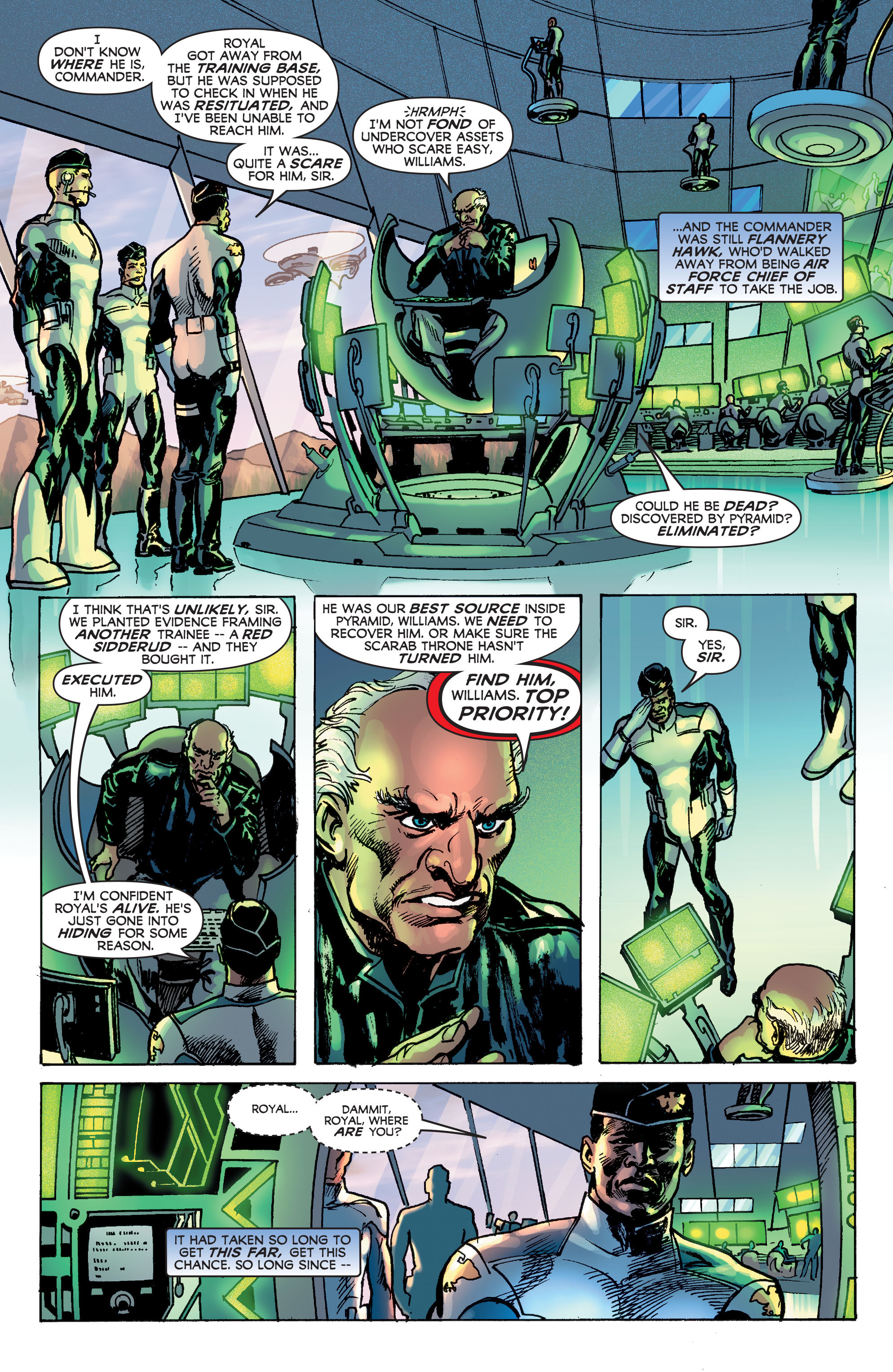Read online Astro City: Dark Age/Book Three comic -  Issue #2 - 6