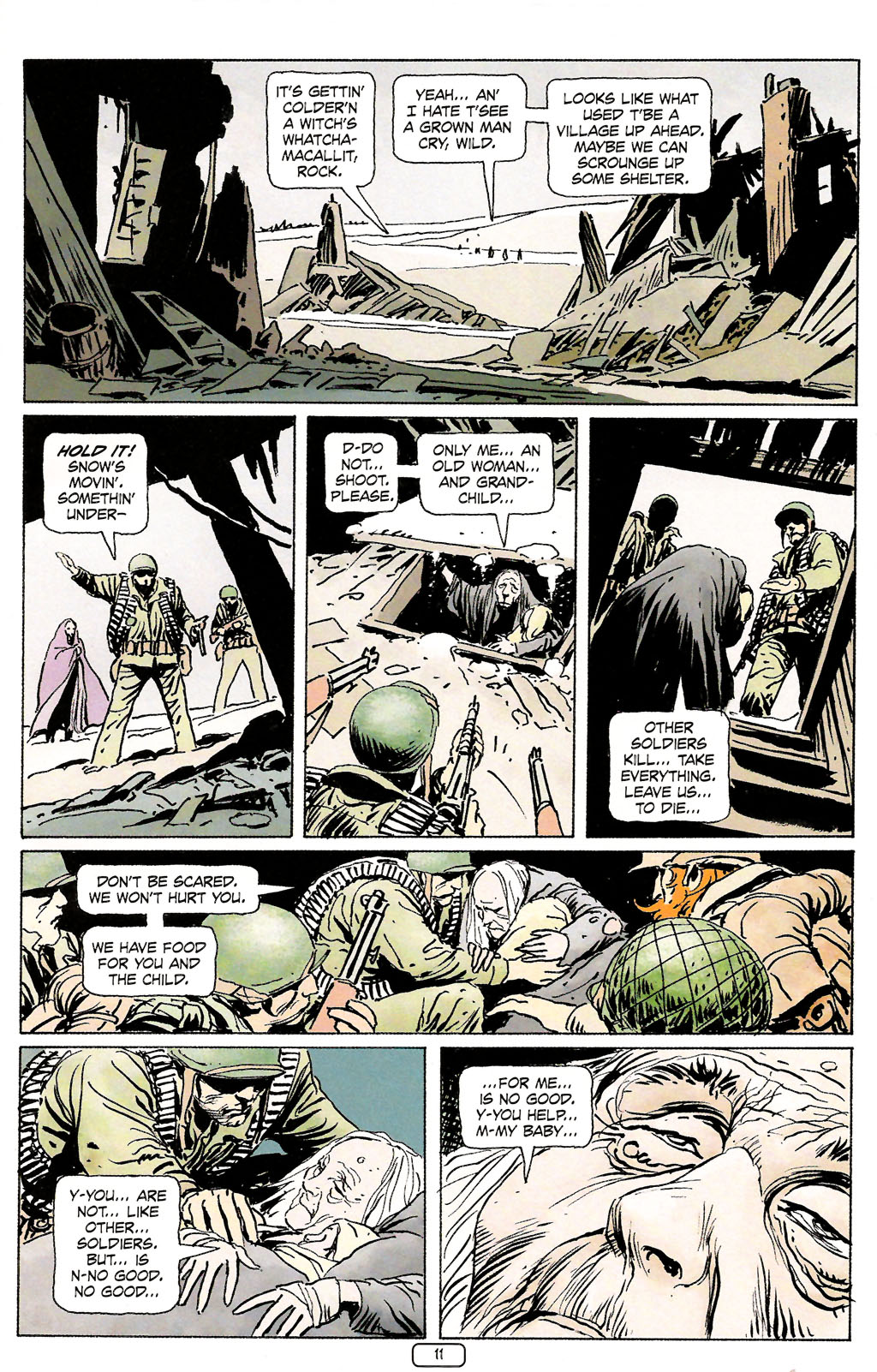 Read online Sgt. Rock: The Prophecy comic -  Issue #4 - 11