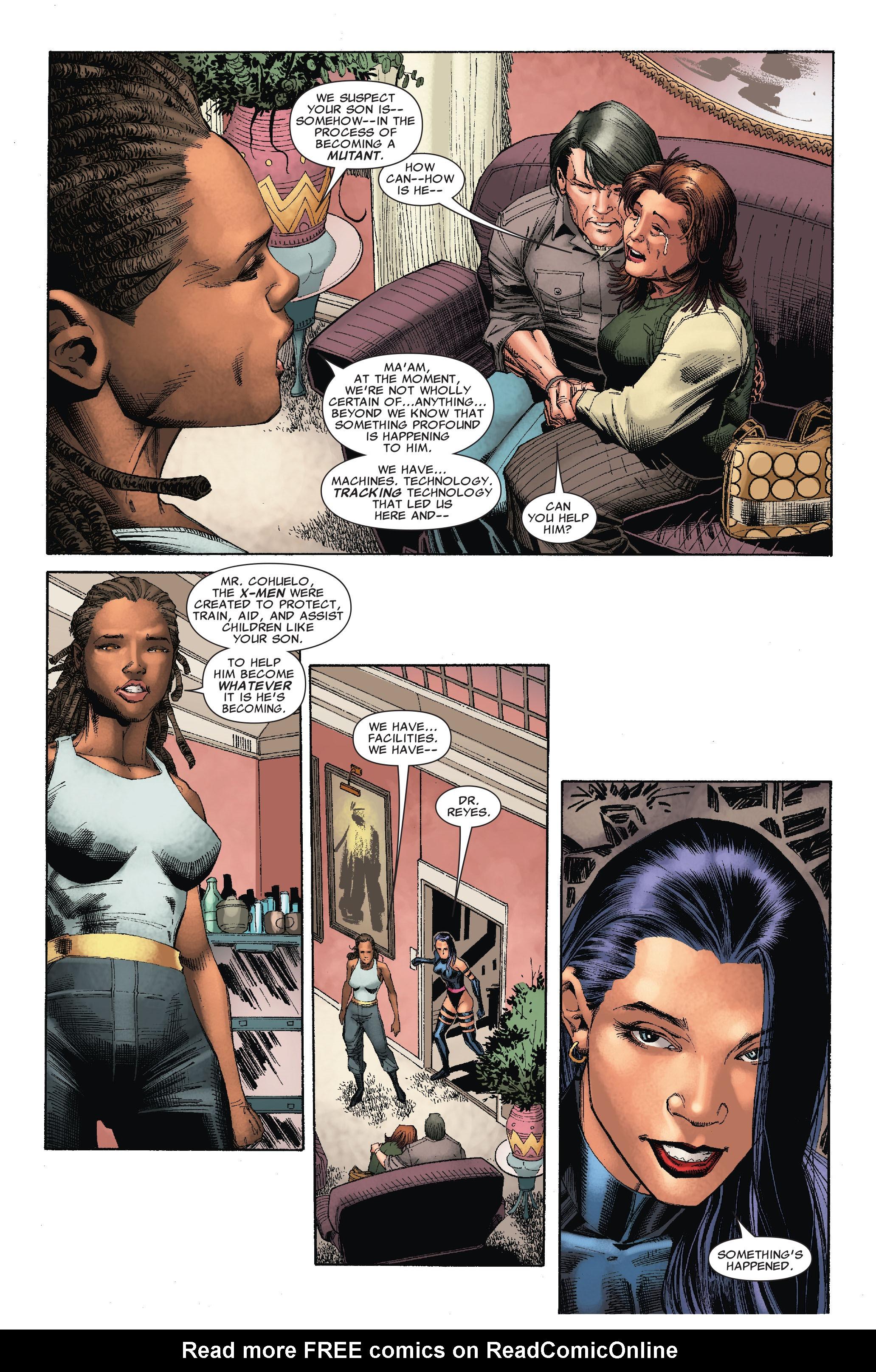 Read online Uncanny X-Men (1963) comic -  Issue #527 - 10