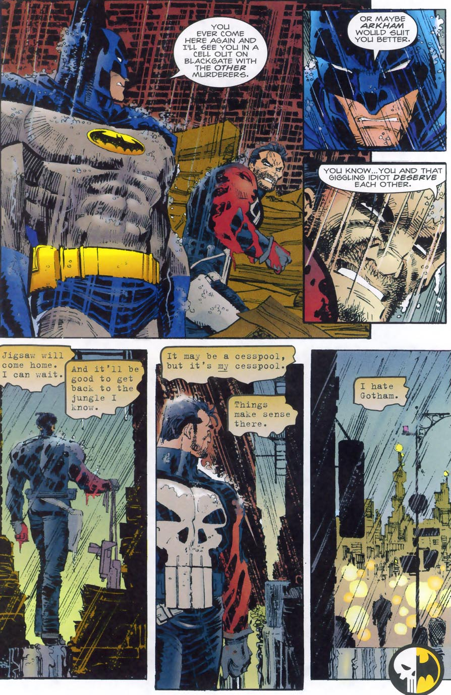 Read online Punisher/Batman: Deadly Knights comic -  Issue # Full - 46