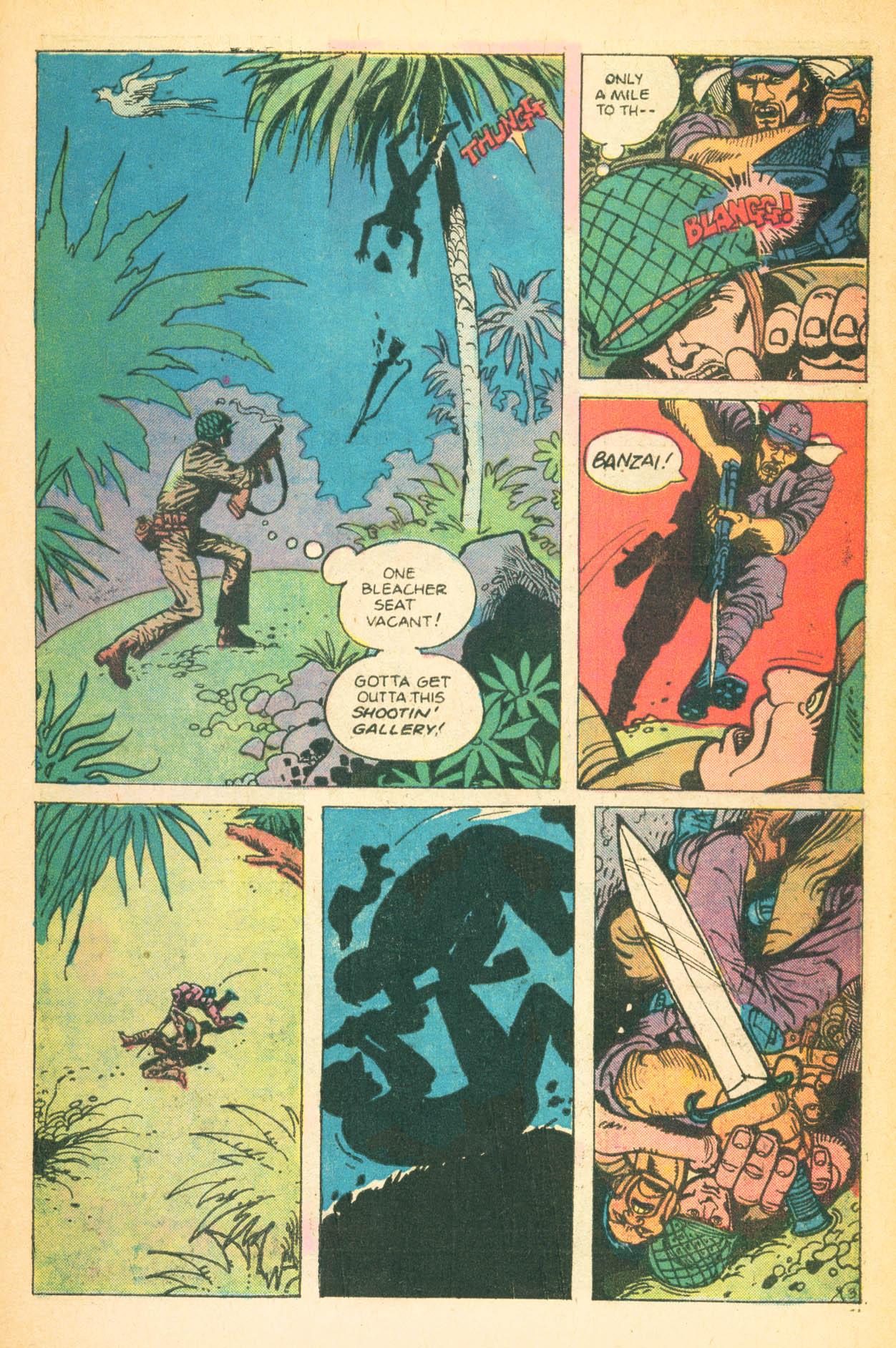 Read online Sgt. Rock comic -  Issue #302 - 27