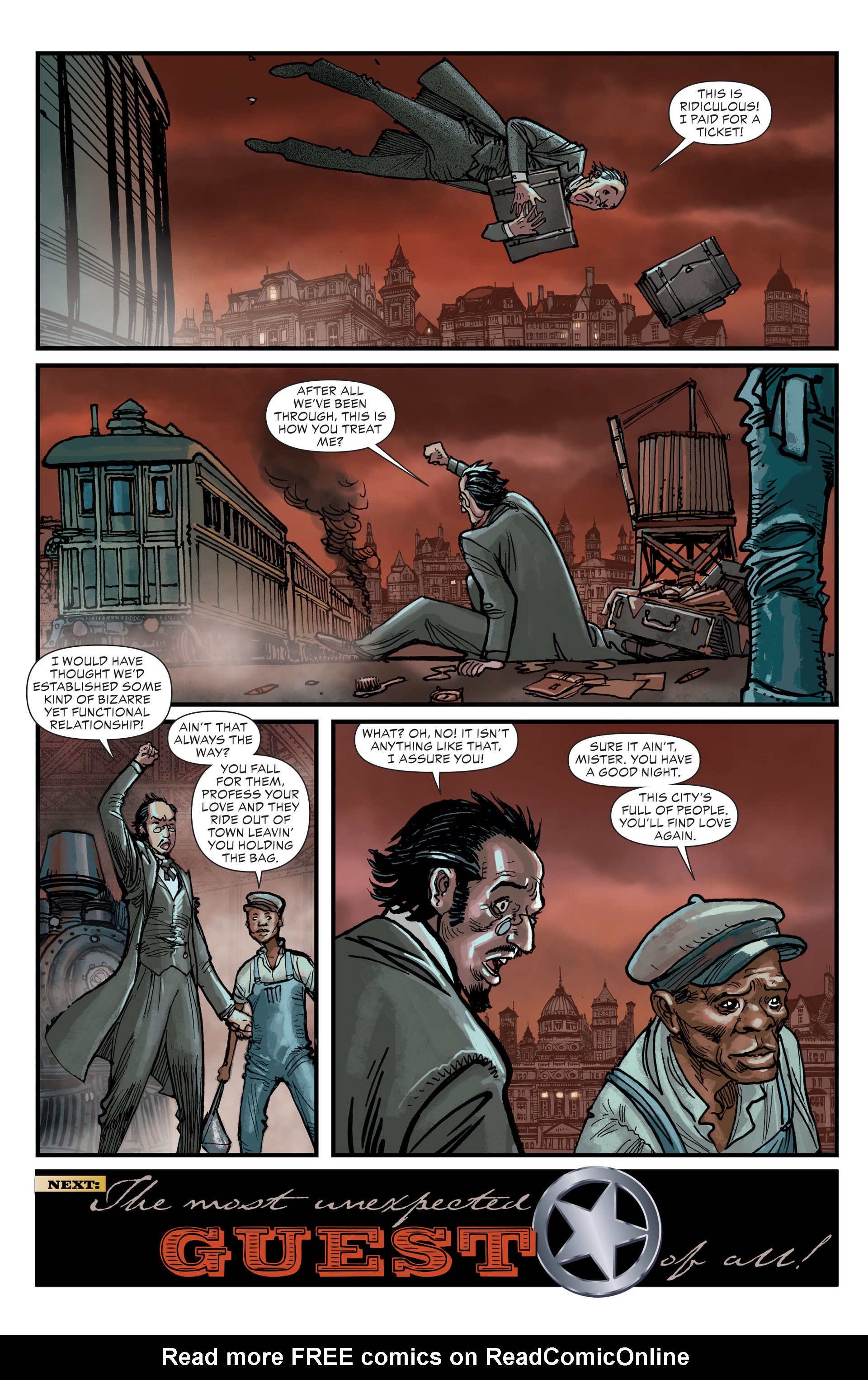 Read online All-Star Western (2011) comic -  Issue #18 - 21