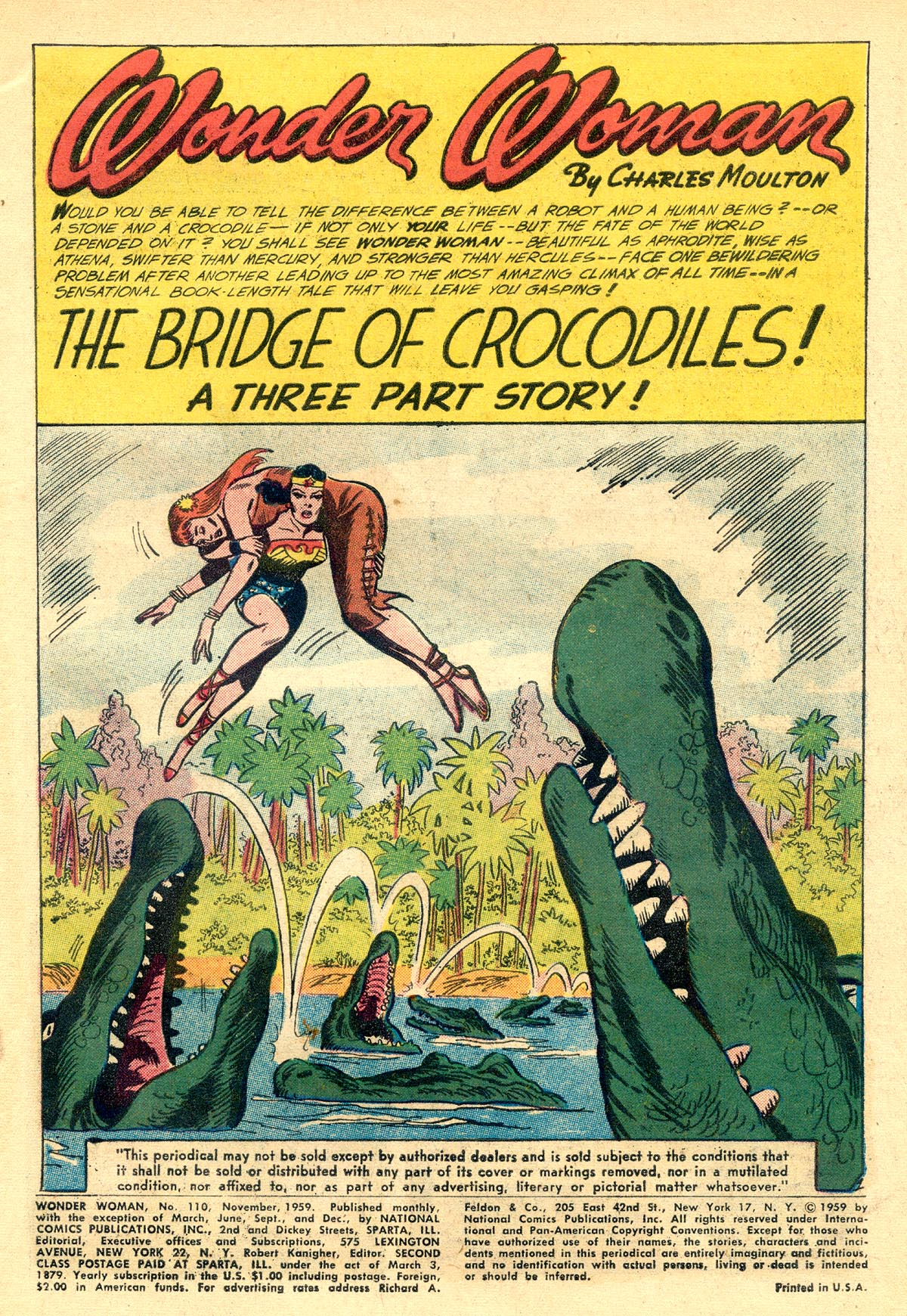 Read online Wonder Woman (1942) comic -  Issue #110 - 3