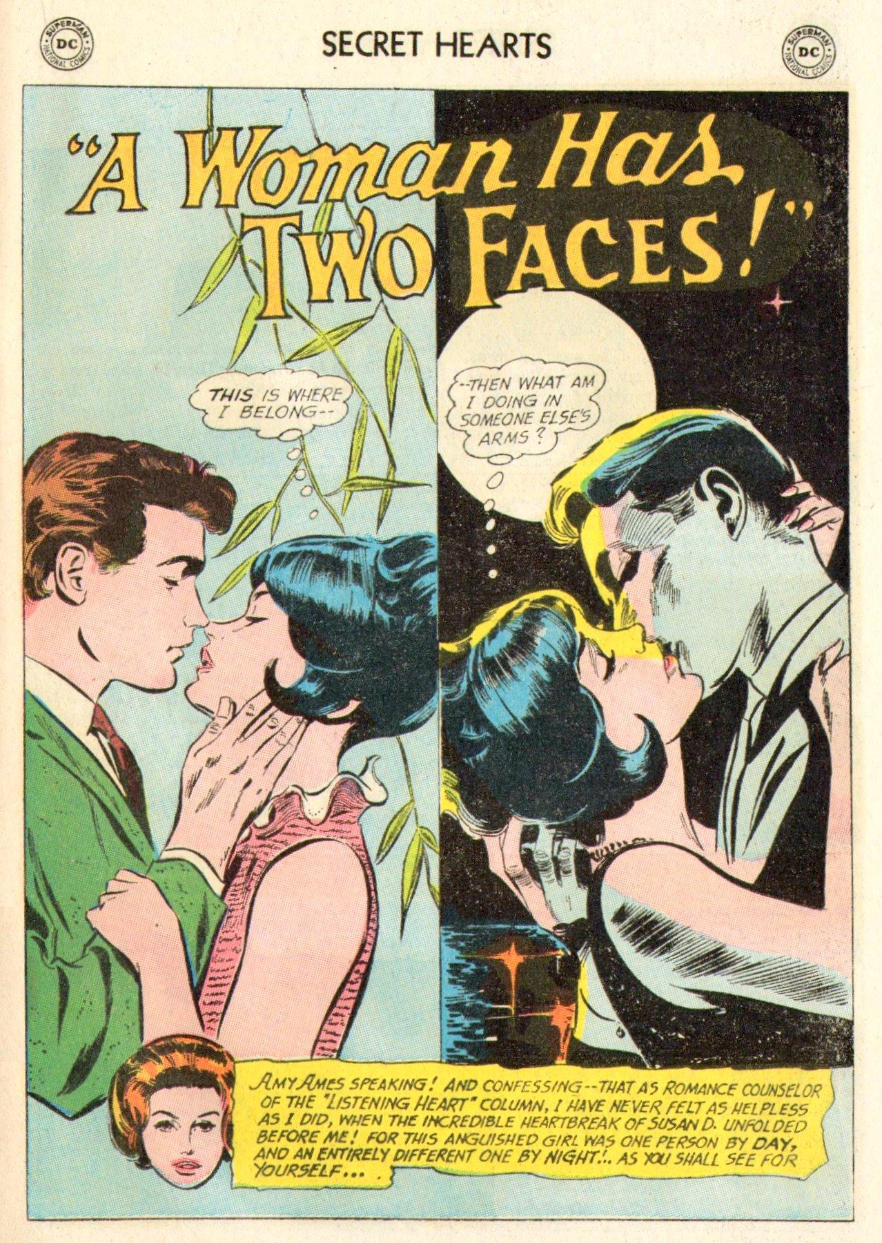 Read online Secret Hearts comic -  Issue #104 - 21