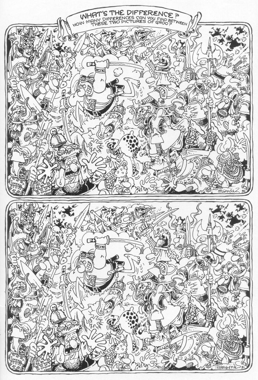 Read online Sergio Aragonés Groo the Wanderer comic -  Issue #93 - 32