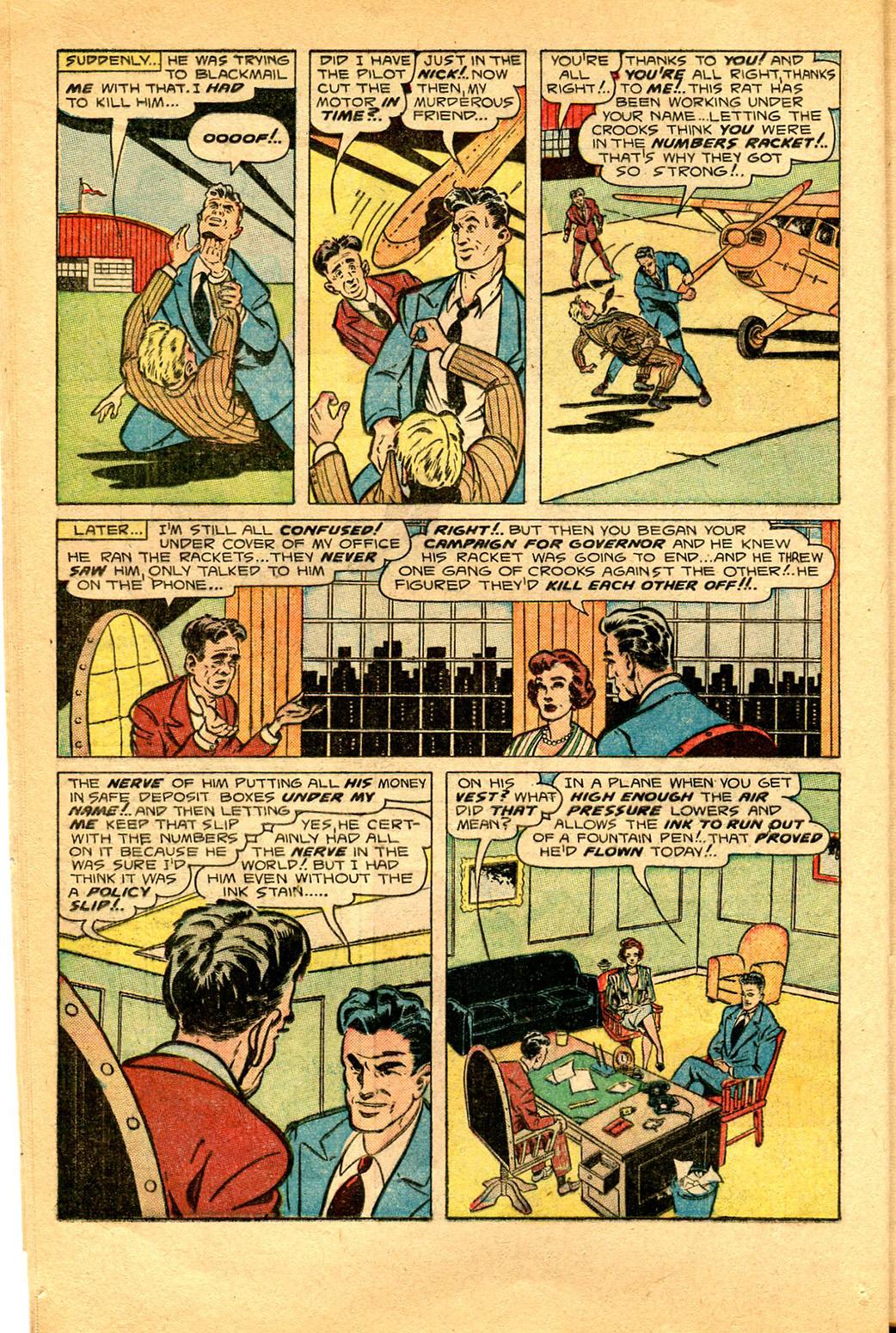 Read online Shadow Comics comic -  Issue #97 - 16