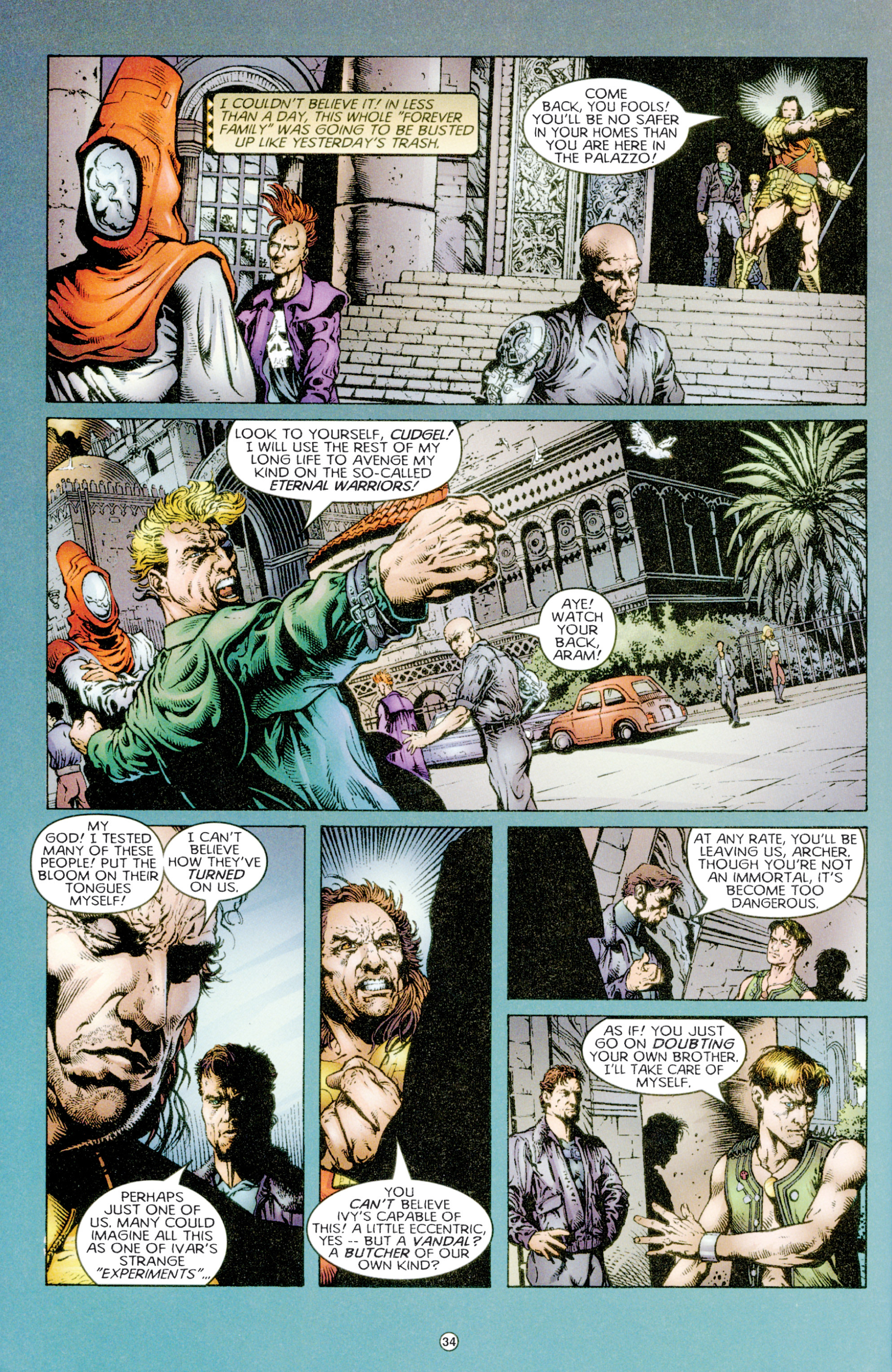 Read online Eternal Warriors comic -  Issue # Issue Time & Treachery - 33