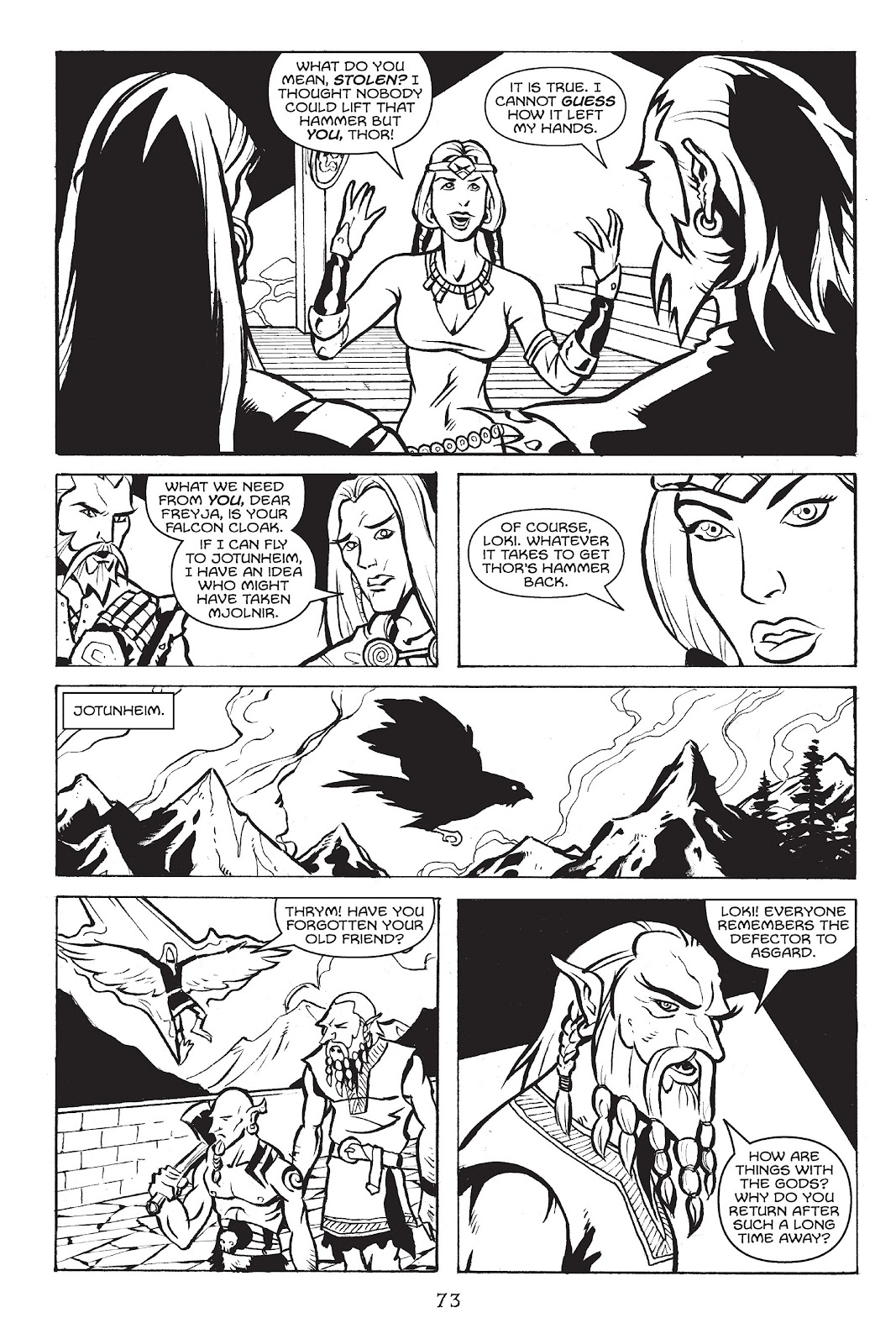 Read online Gods of Asgard comic -  Issue # TPB (Part 1) - 74