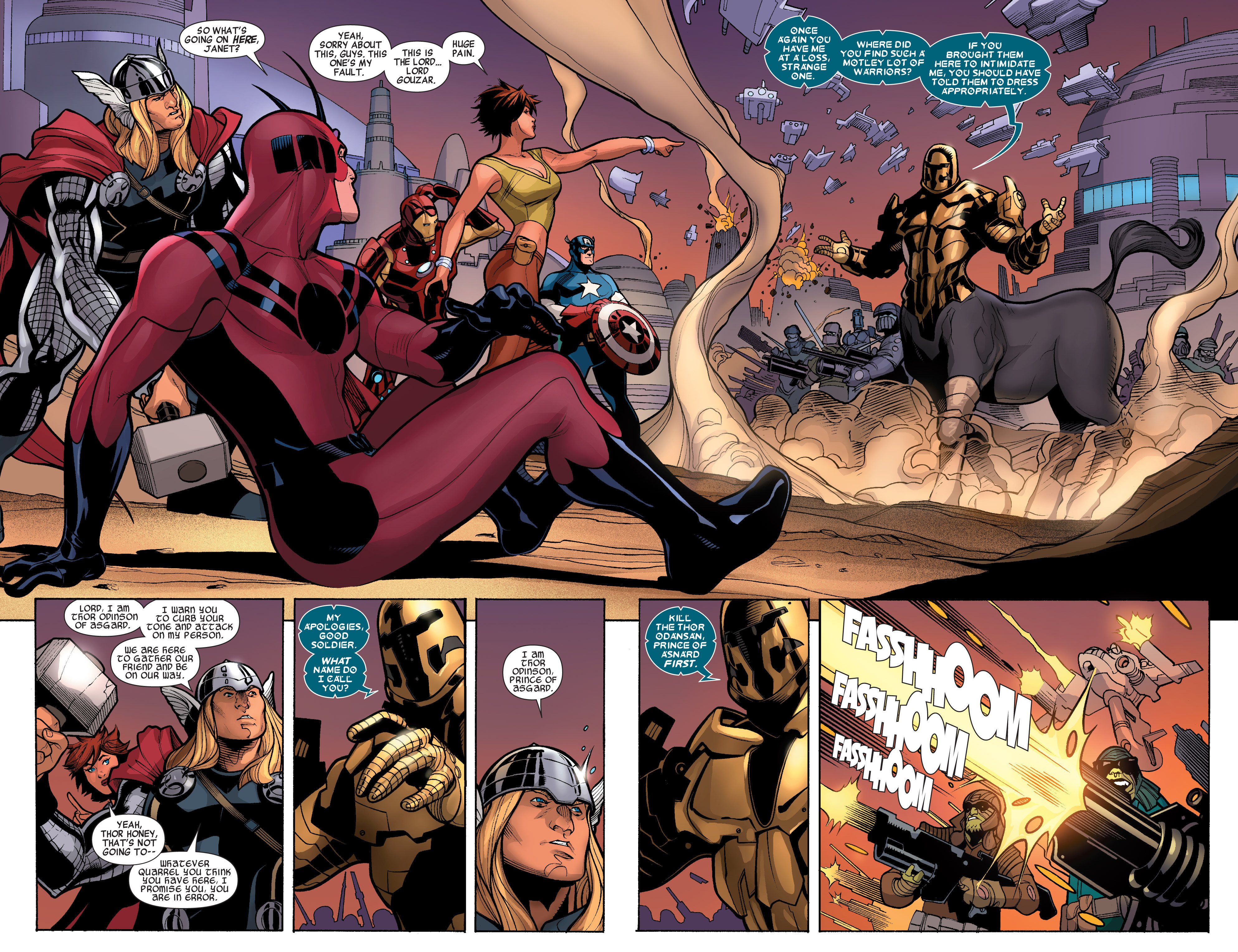 Read online Avengers (2010) comic -  Issue #33 - 5