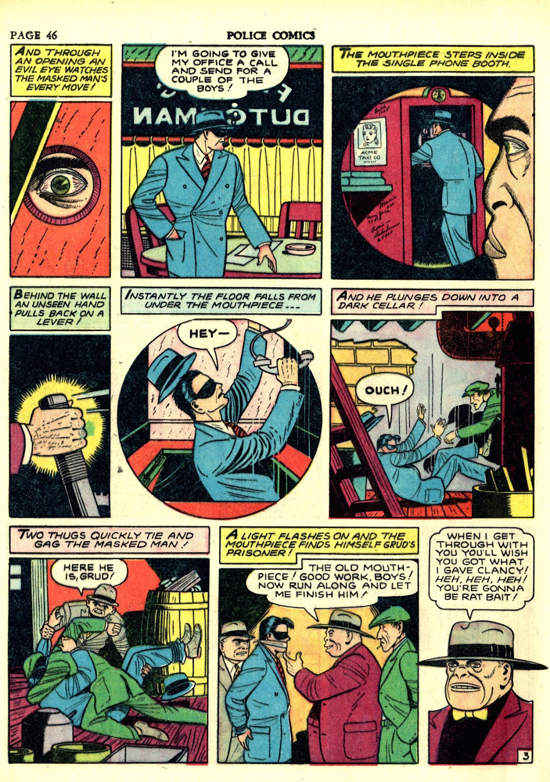Police Comics issue 6 - Page 49