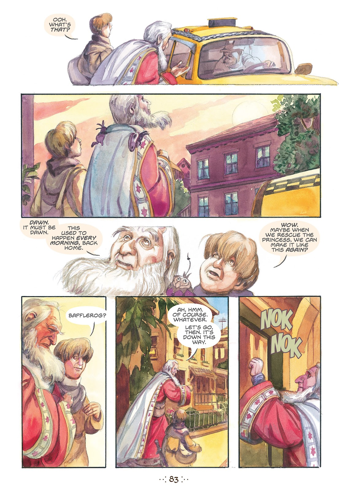 Read online The Wizard's Tale comic -  Issue # TPB - 79