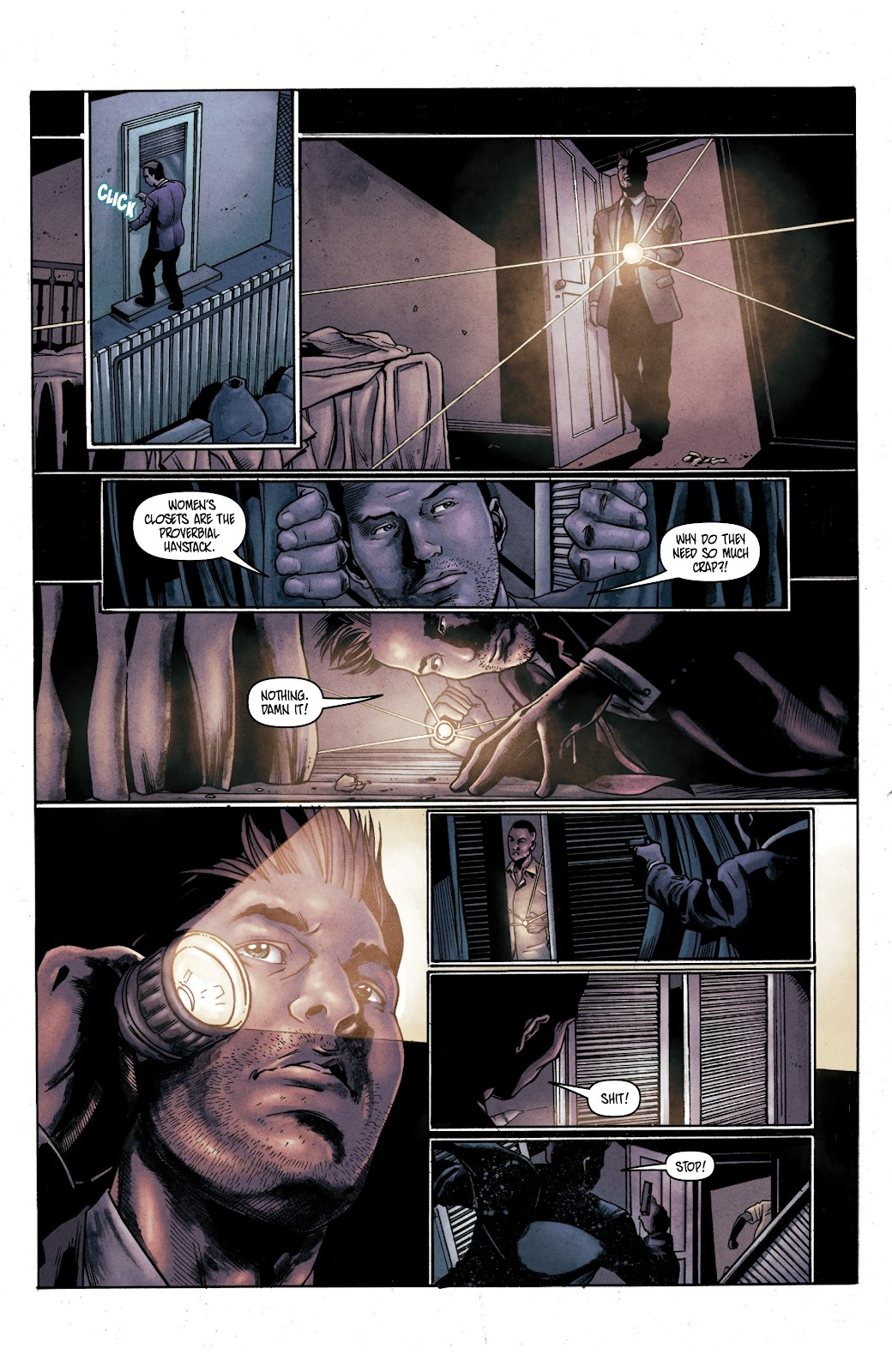 Read online Vindication comic -  Issue #2 - 4
