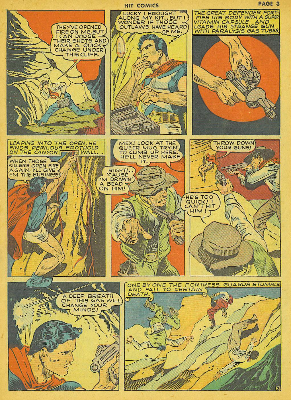 Read online Hit Comics comic -  Issue #21 - 5