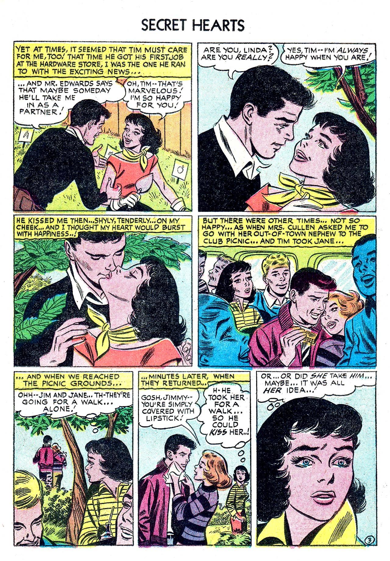 Read online Secret Hearts comic -  Issue #32 - 21