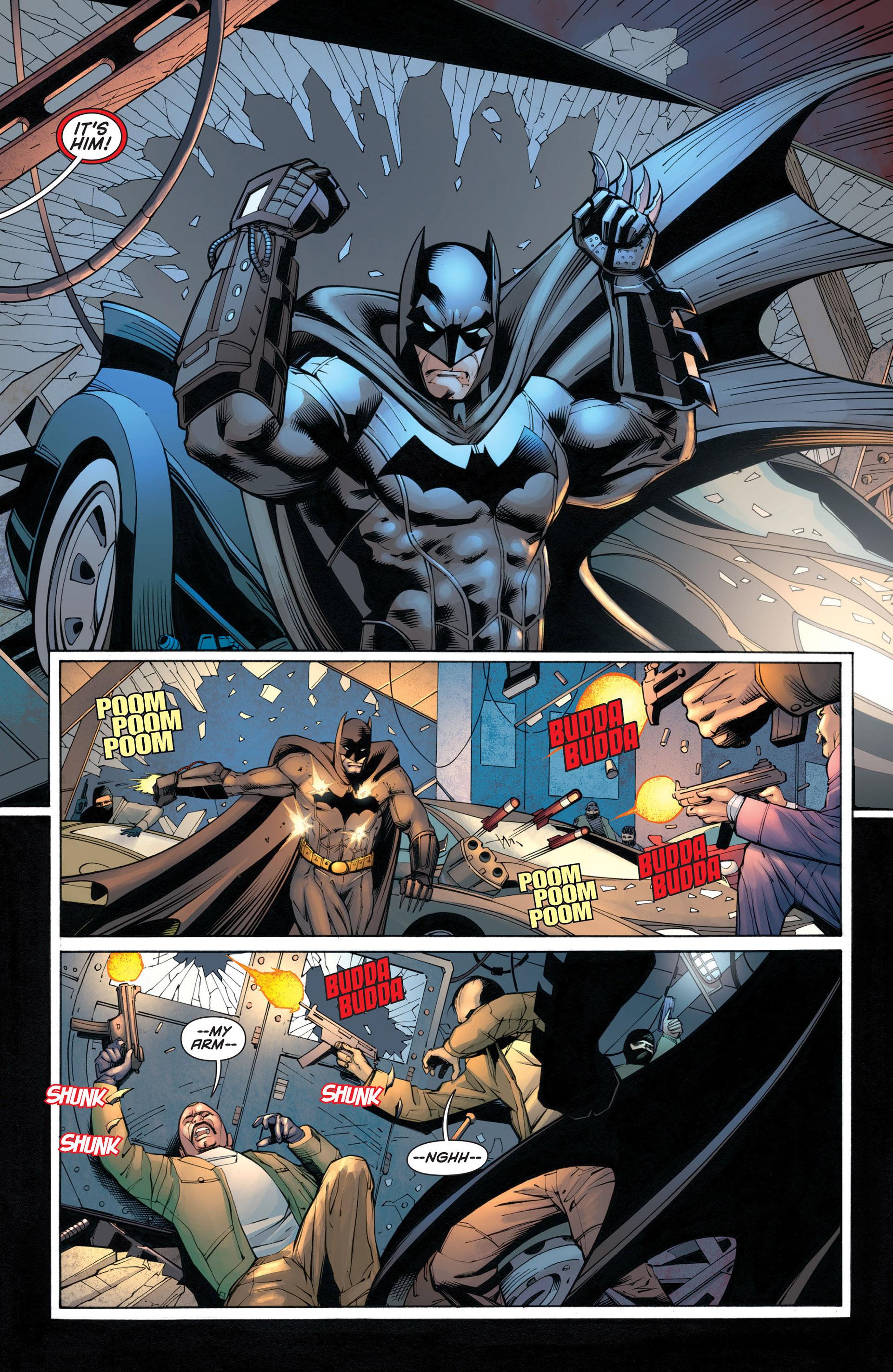 Read online Batman and Robin (2011) comic -  Issue #21 - Batman and Batgirl - 9