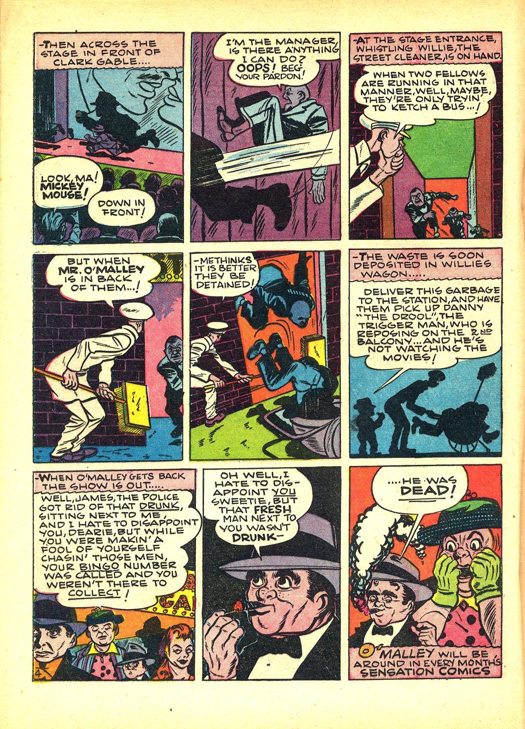 Read online Sensation (Mystery) Comics comic -  Issue #8 - 36