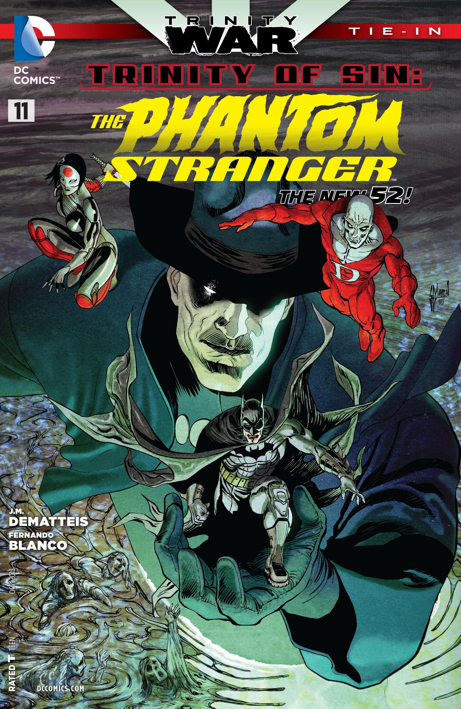 Read online Trinity of Sin: The Phantom Stranger comic -  Issue #11 - 1