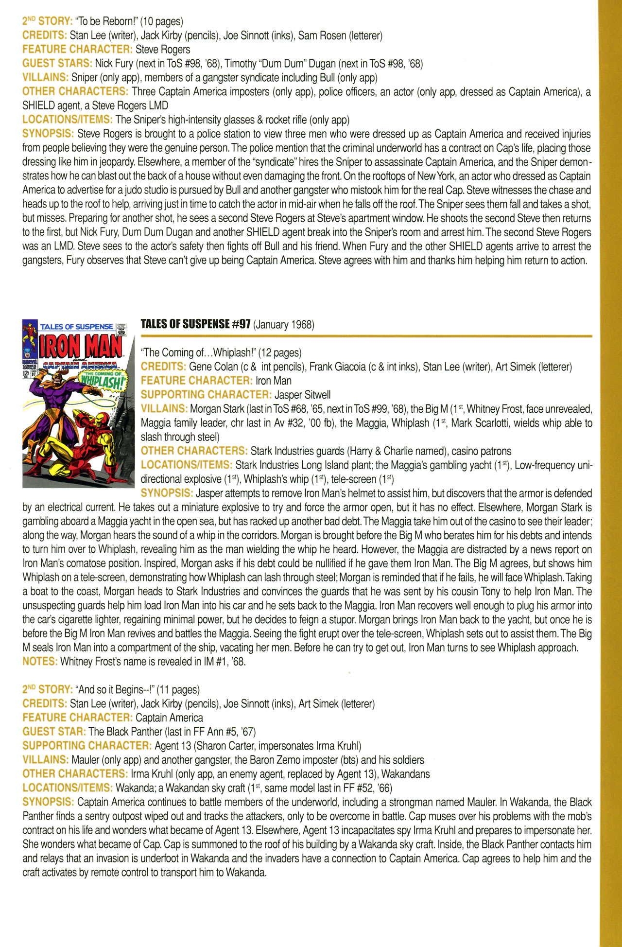 Read online Official Index to the Marvel Universe comic -  Issue #2 - 37