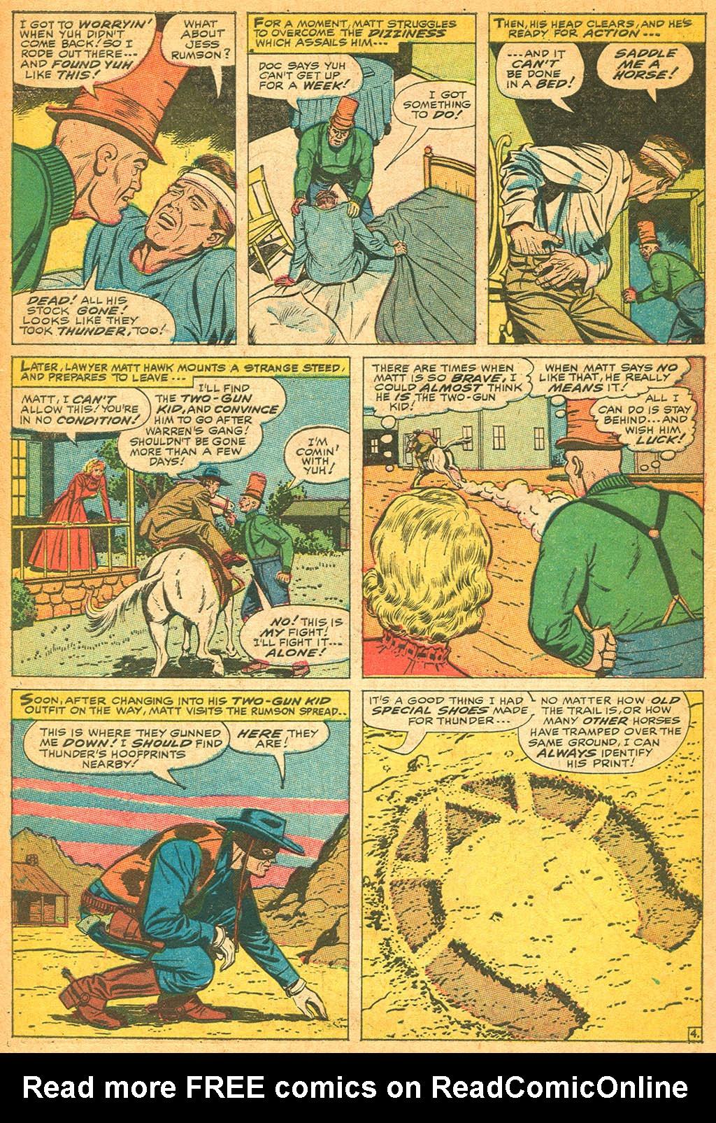 Read online Two-Gun Kid comic -  Issue #87 - 6