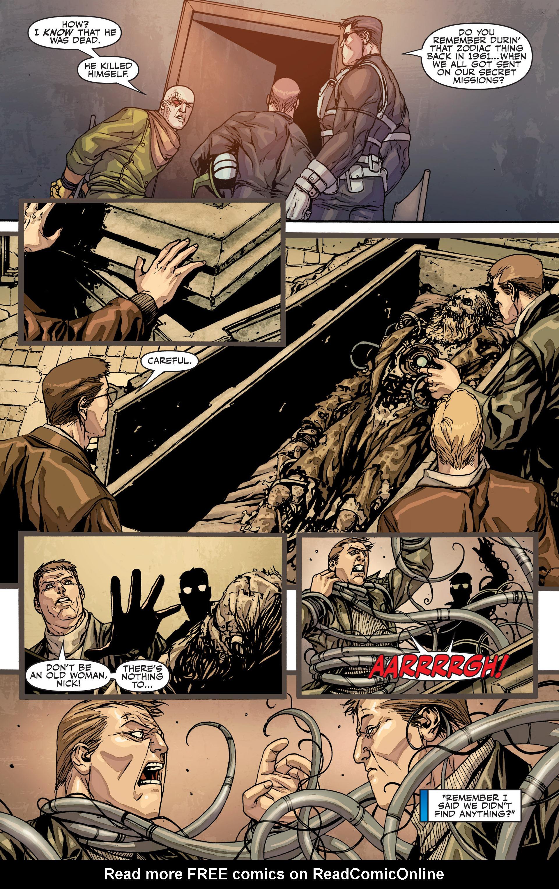 Read online Secret Warriors comic -  Issue #26 - 21