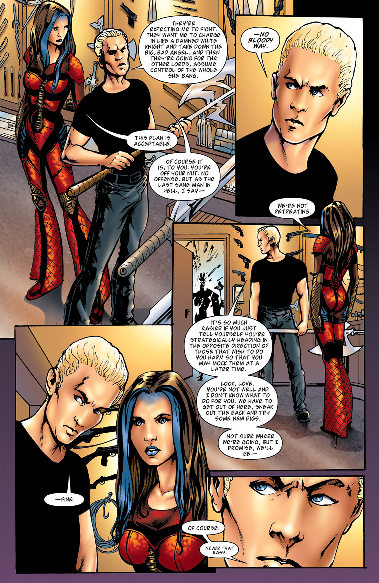 Read online Angel: After The Fall comic -  Issue #5 - 8