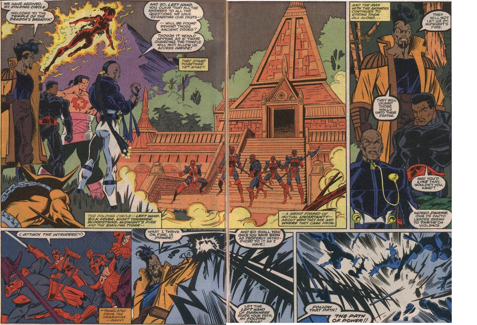 The New Warriors Issue #23 #27 - English 3