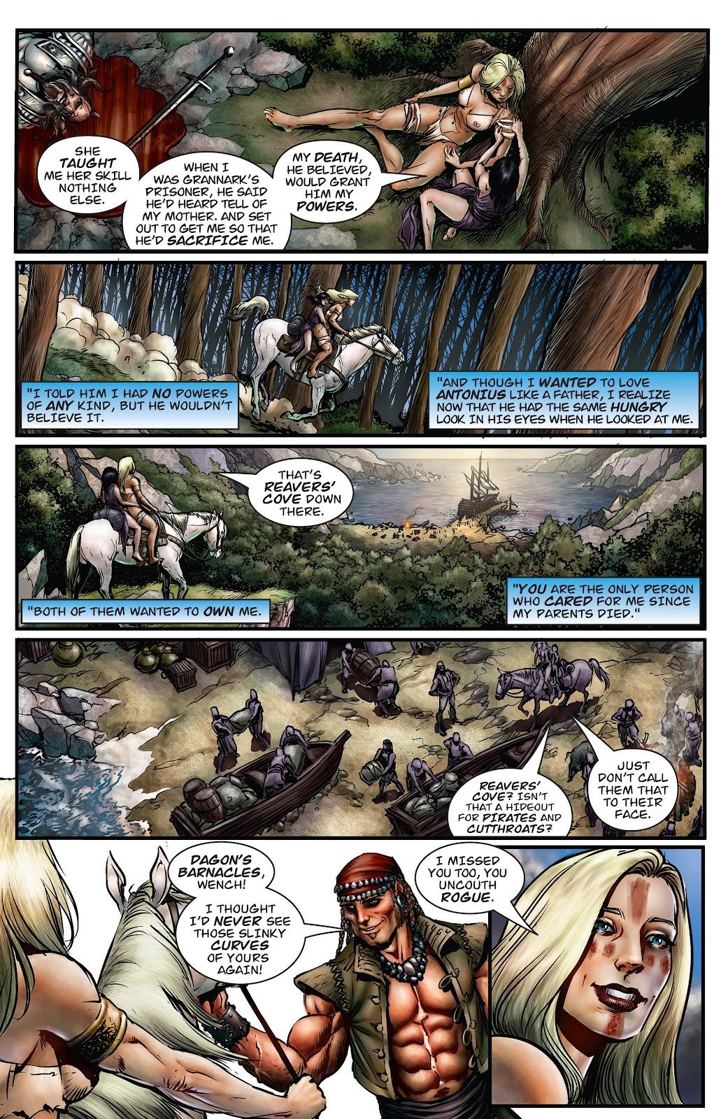 Arhian Head Huntress Issue 4 | Read Arhian Head Huntress
