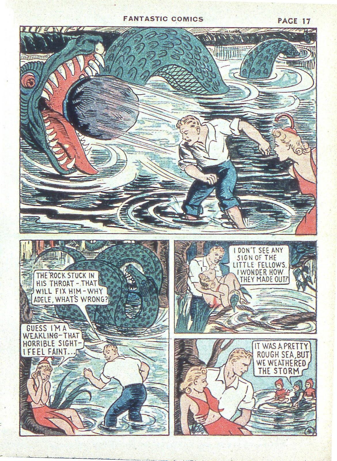 Read online Fantastic Comics comic -  Issue #3 - 20